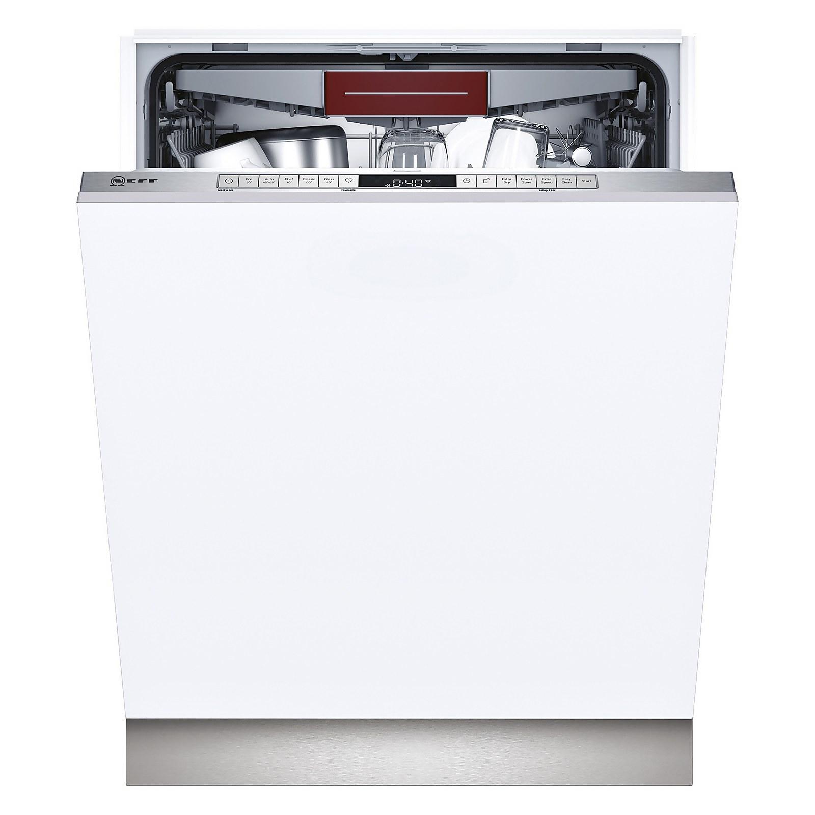 Neff N50 S155HVX15G 60cm Integrated Dishwasher