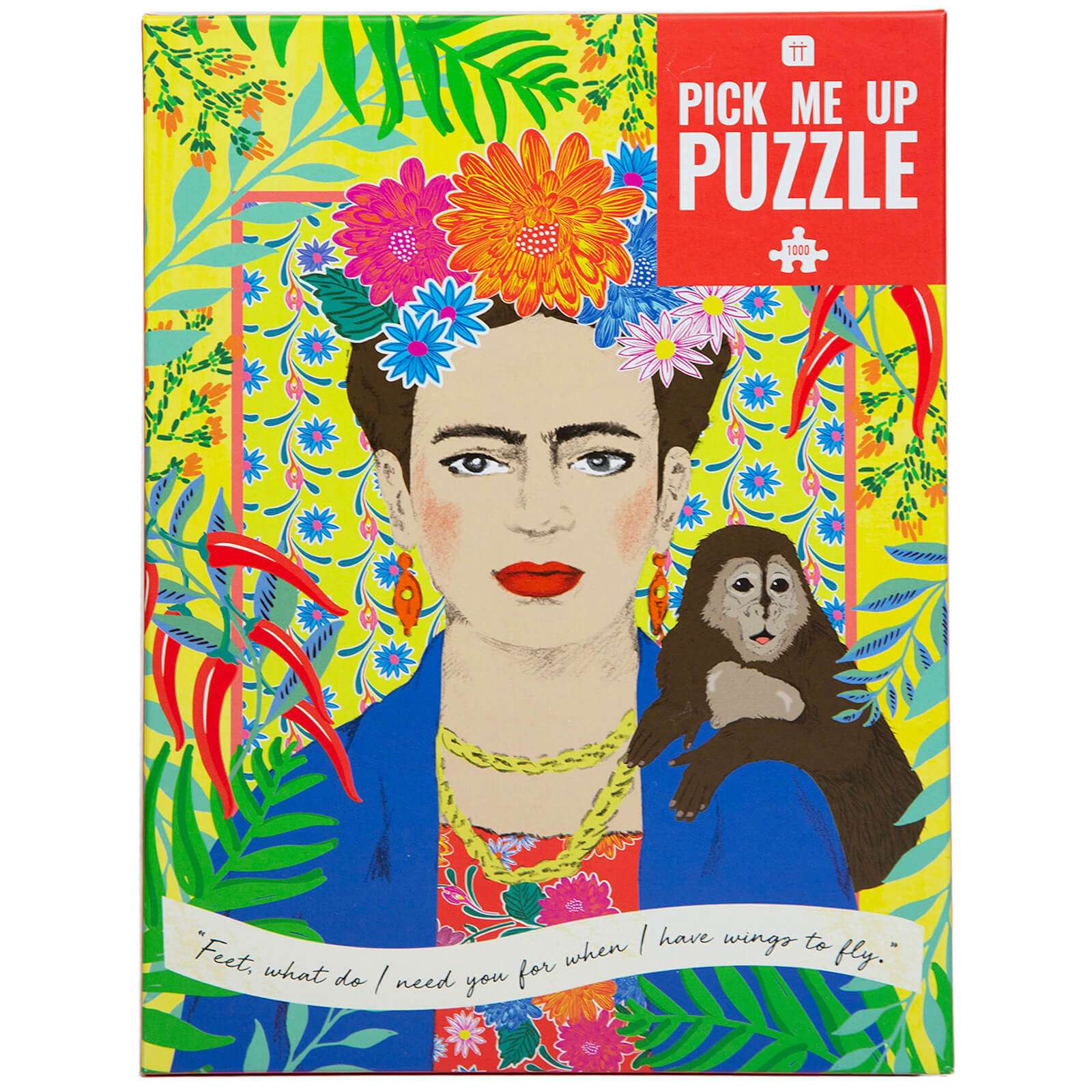 Image of Pick Me Up 1000pc Jigsaw Puzzle - Frida Khalo
