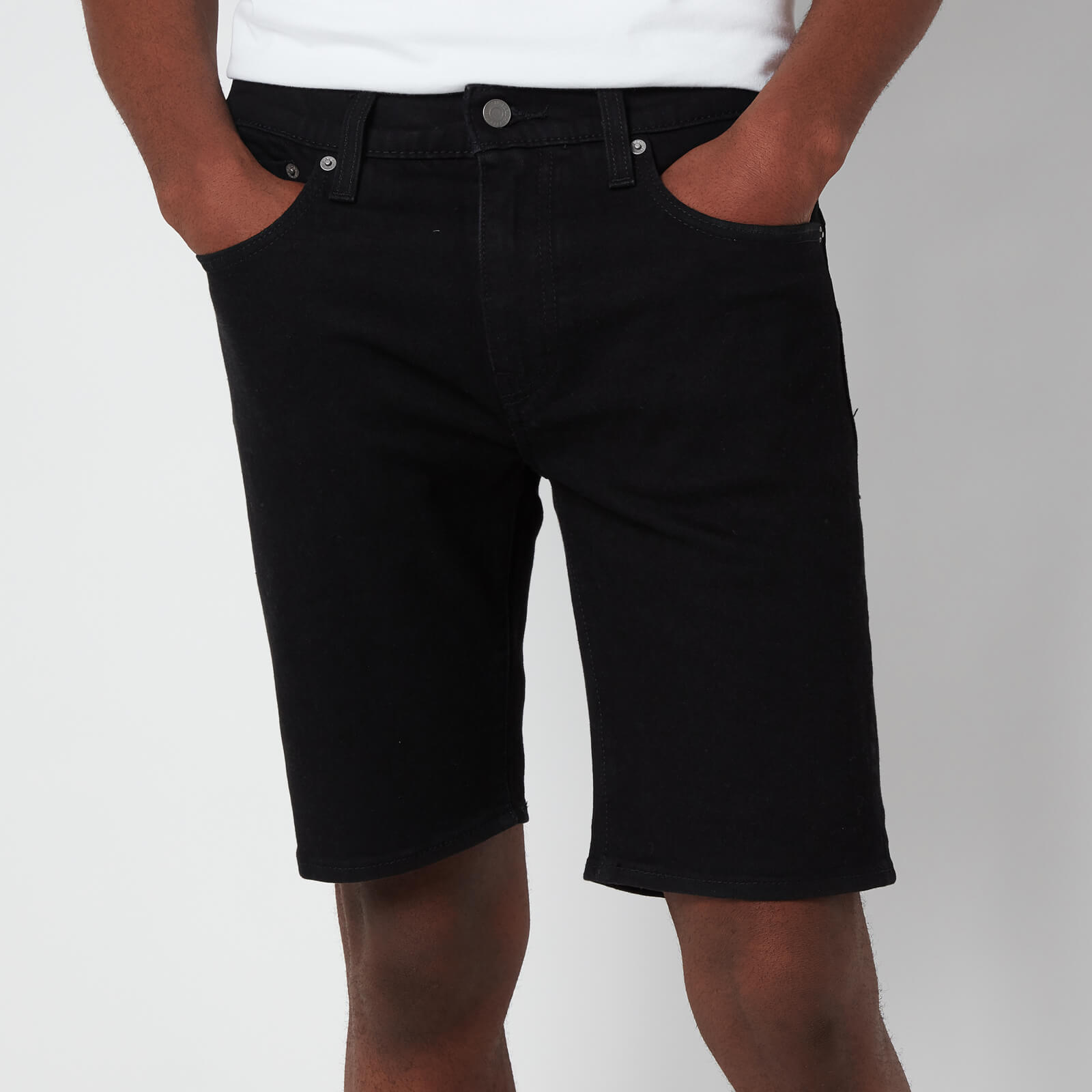 Levi's Men's 405 Standard Shorts - Black Rinse - W30