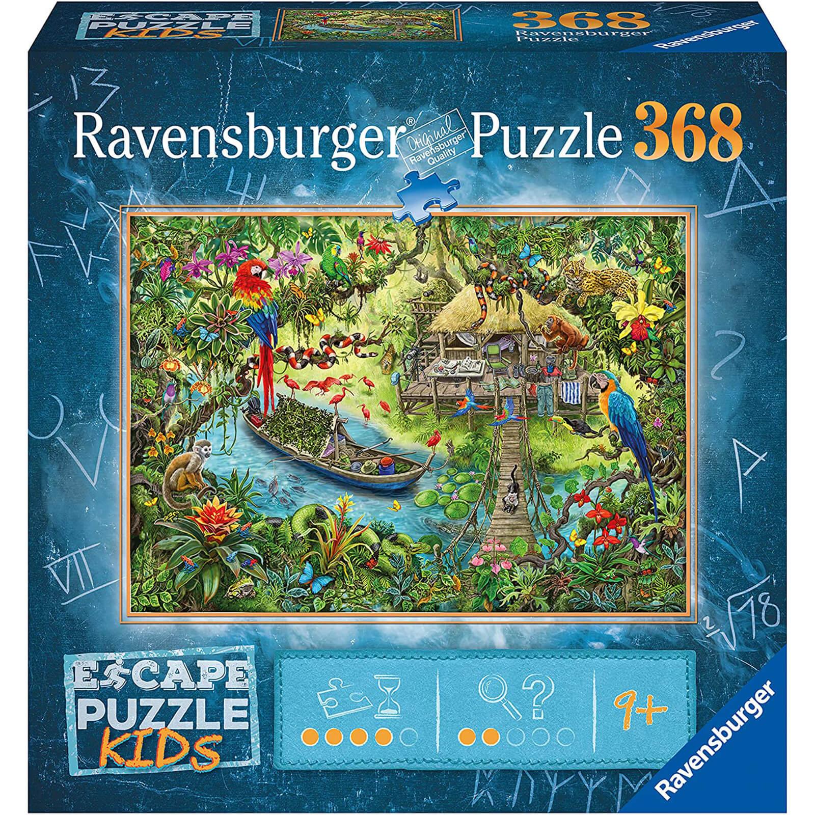 Image of Escape Jigsaw Puzzle Kids - Jungle (368 Pieces)
