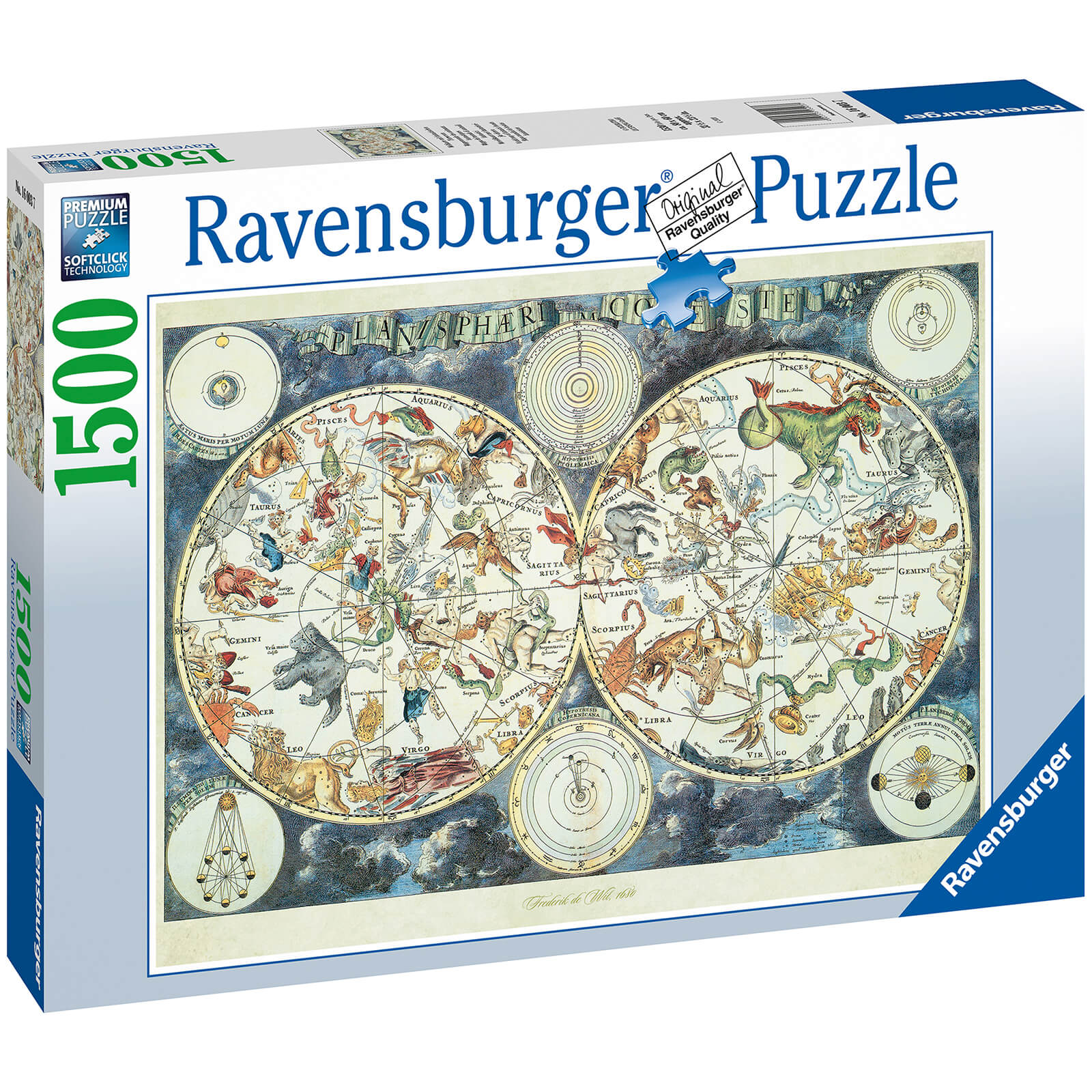 Image of World Map Jigsaw Puzzle (1500 Pieces)