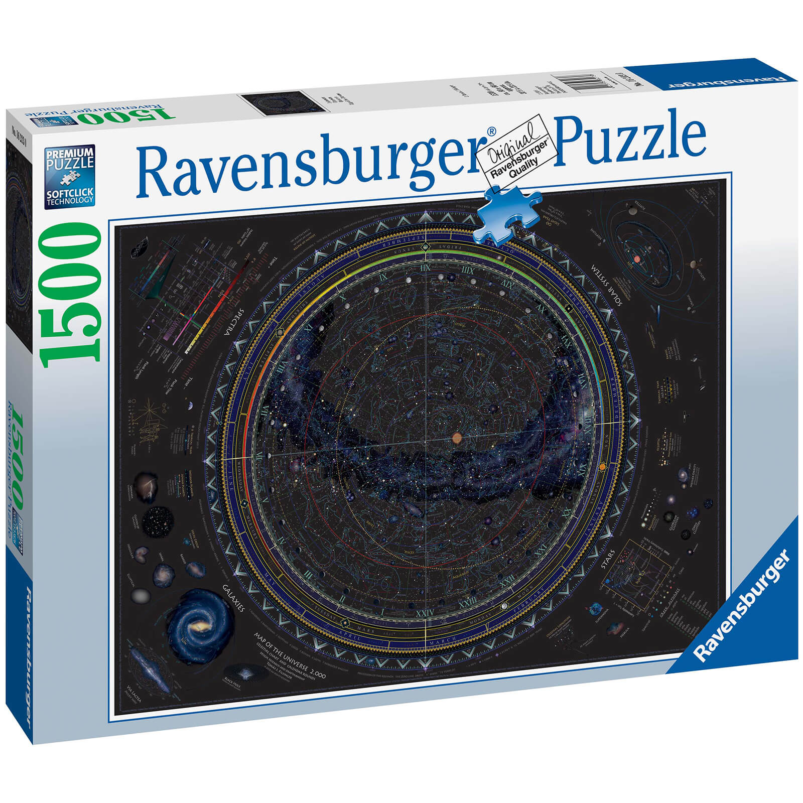 Image of Map of the Universe Jigsaw Puzzle (1500 Pieces)