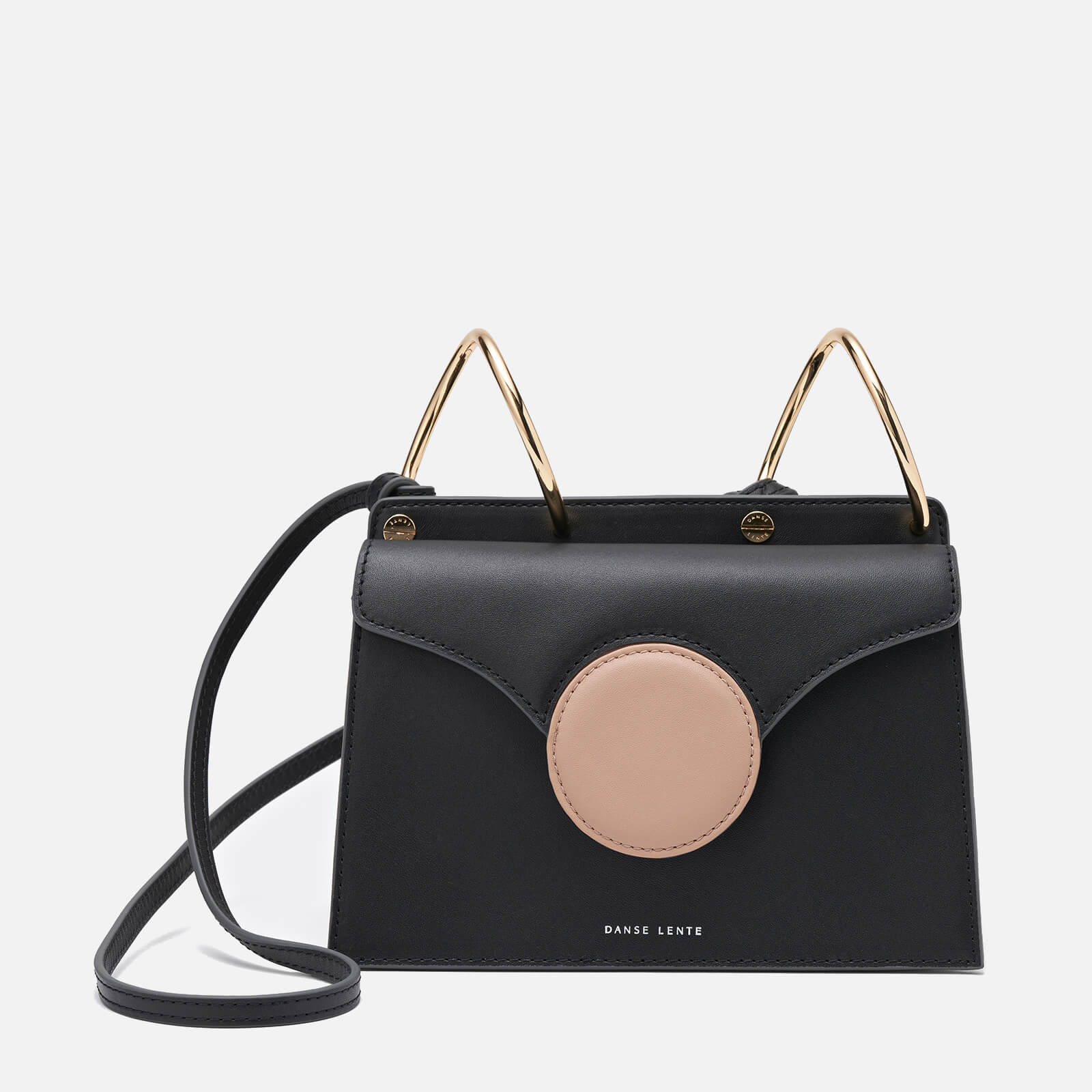 Danse Lente Women's Mini Phoebe Cross Body Bag - Cashew/Black