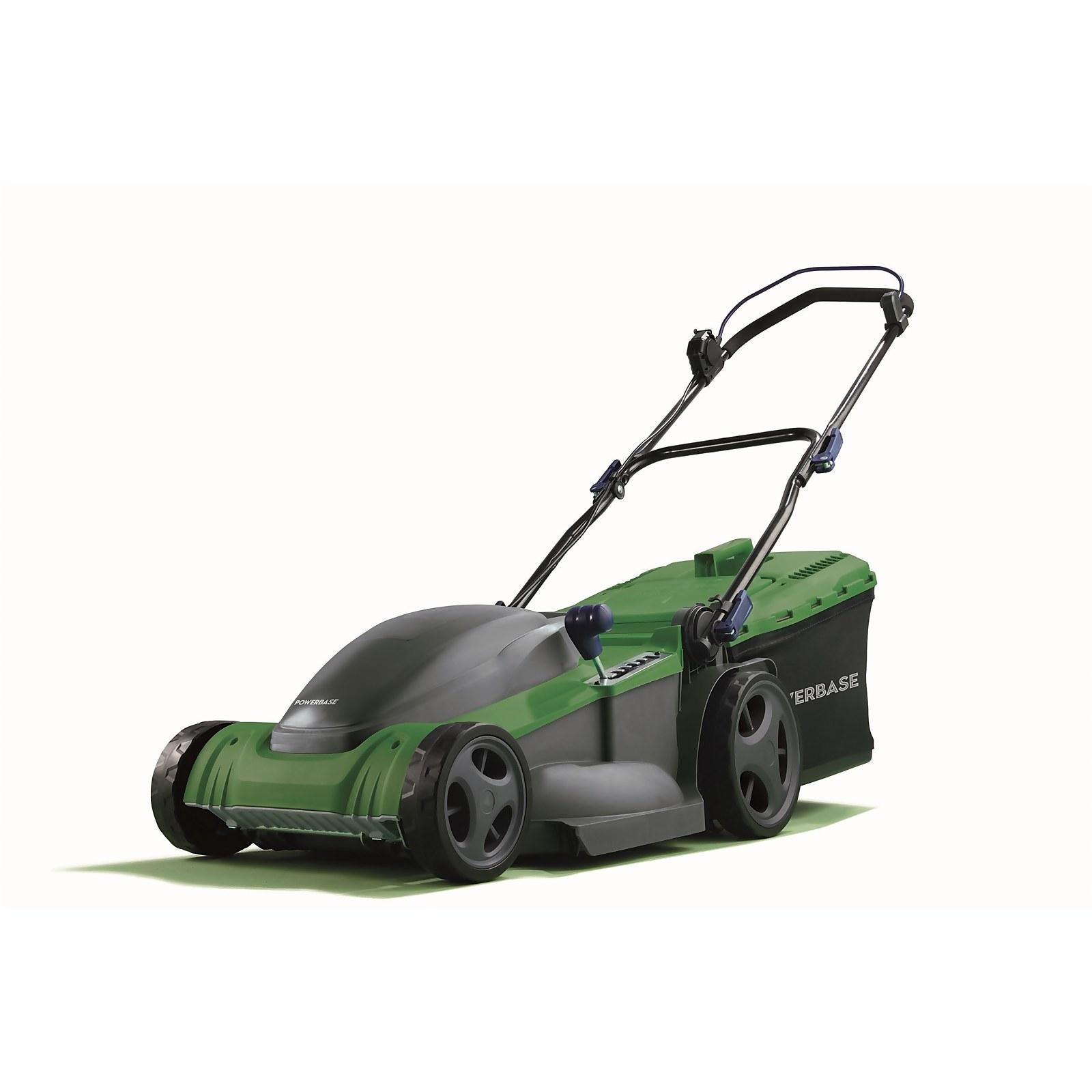 Powerbase 1800W Electric Lawn Mower 41cm