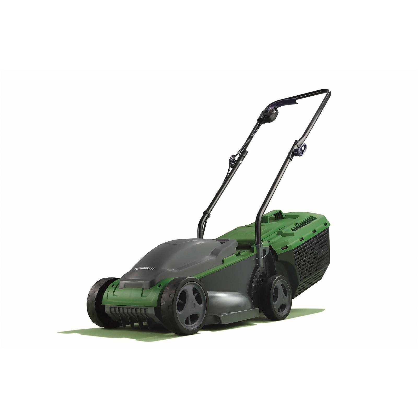Powerbase 1200W Electric Lawn Mower 32cm