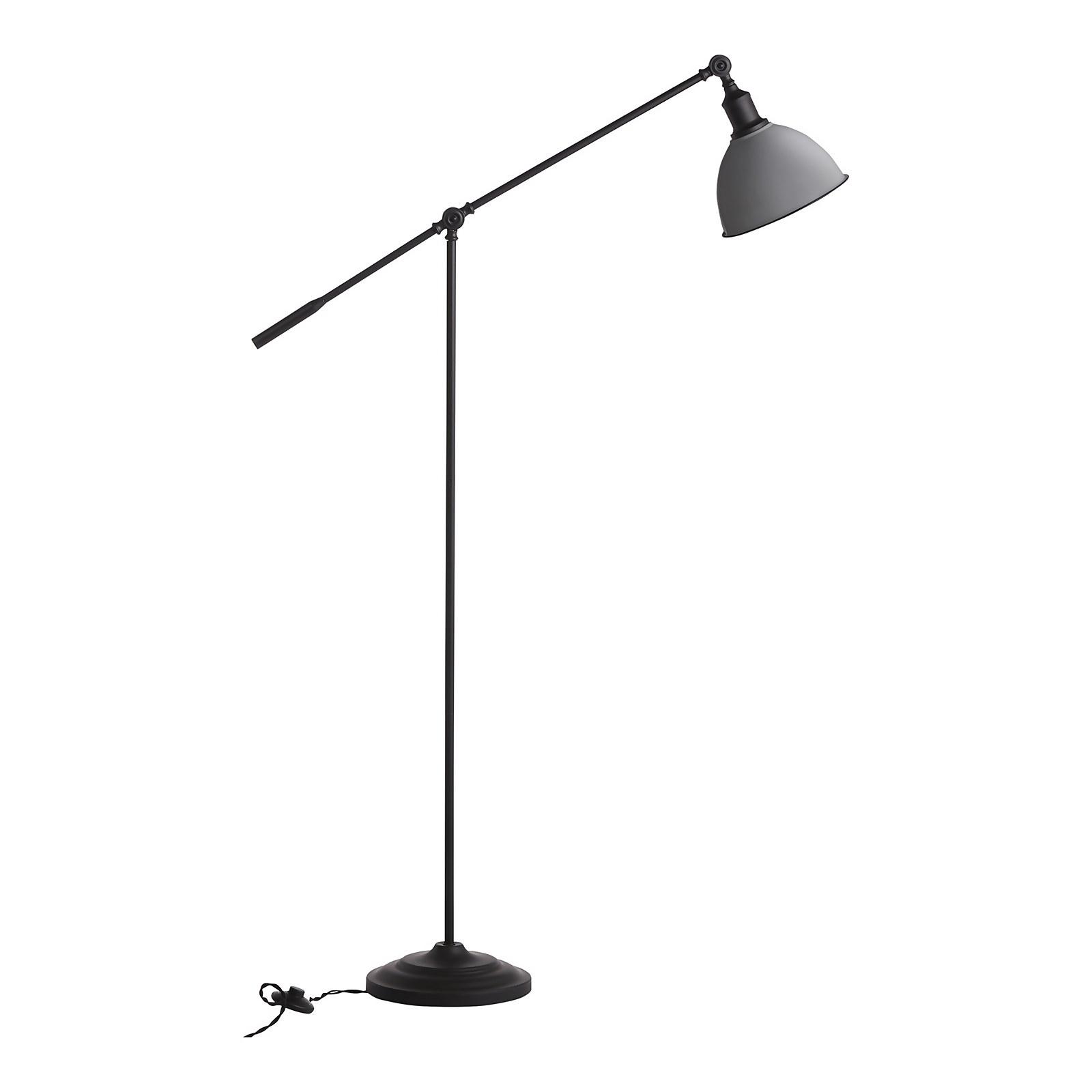 Farmhouse Floor Lamp - Grey