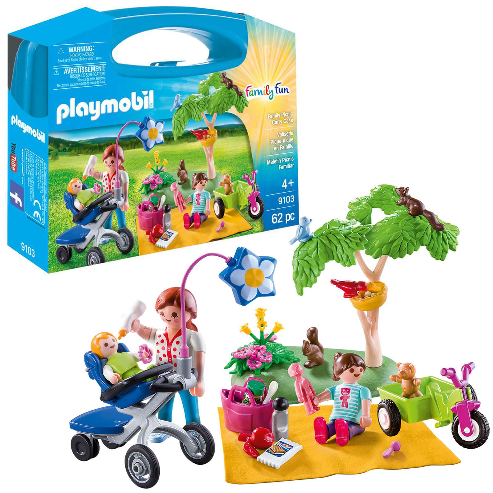 Playmobil Family Fun Family Picnic Carry Case (9103)