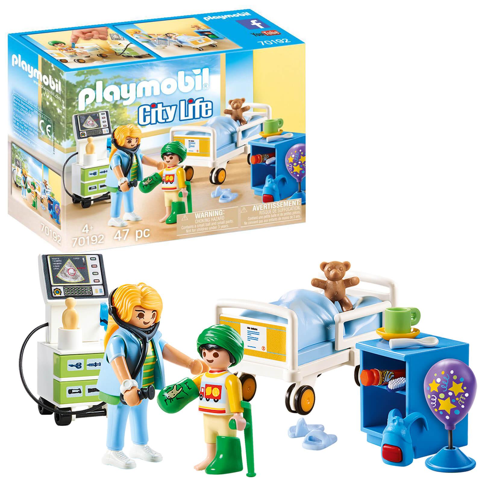 Playmobil City Life Childrens Hospital Room (70192)