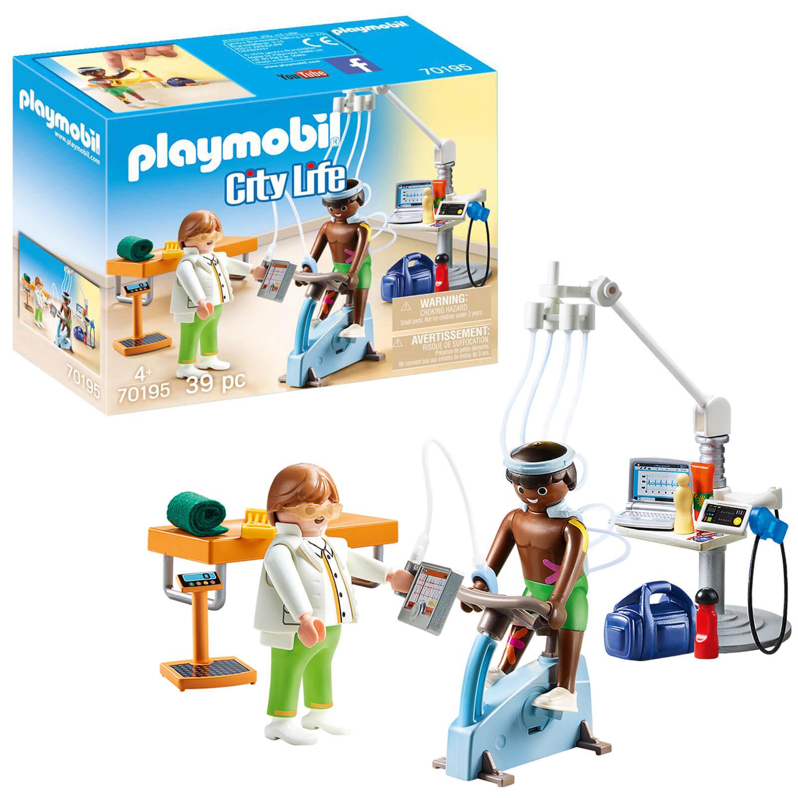Playmobil City Life Hospital Physiotherapist (70195)