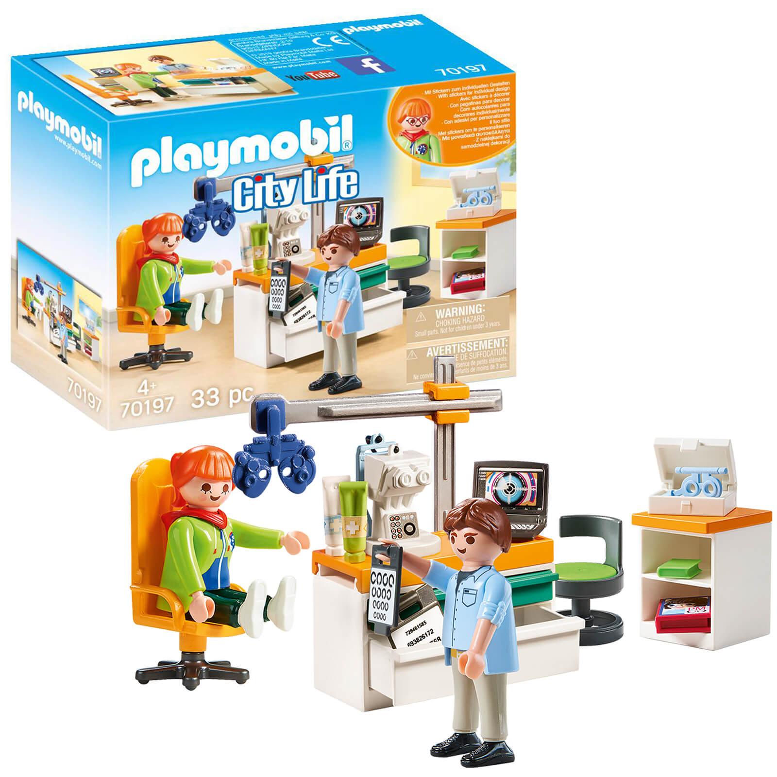 Playmobil City Life Hospital Optician (70197)