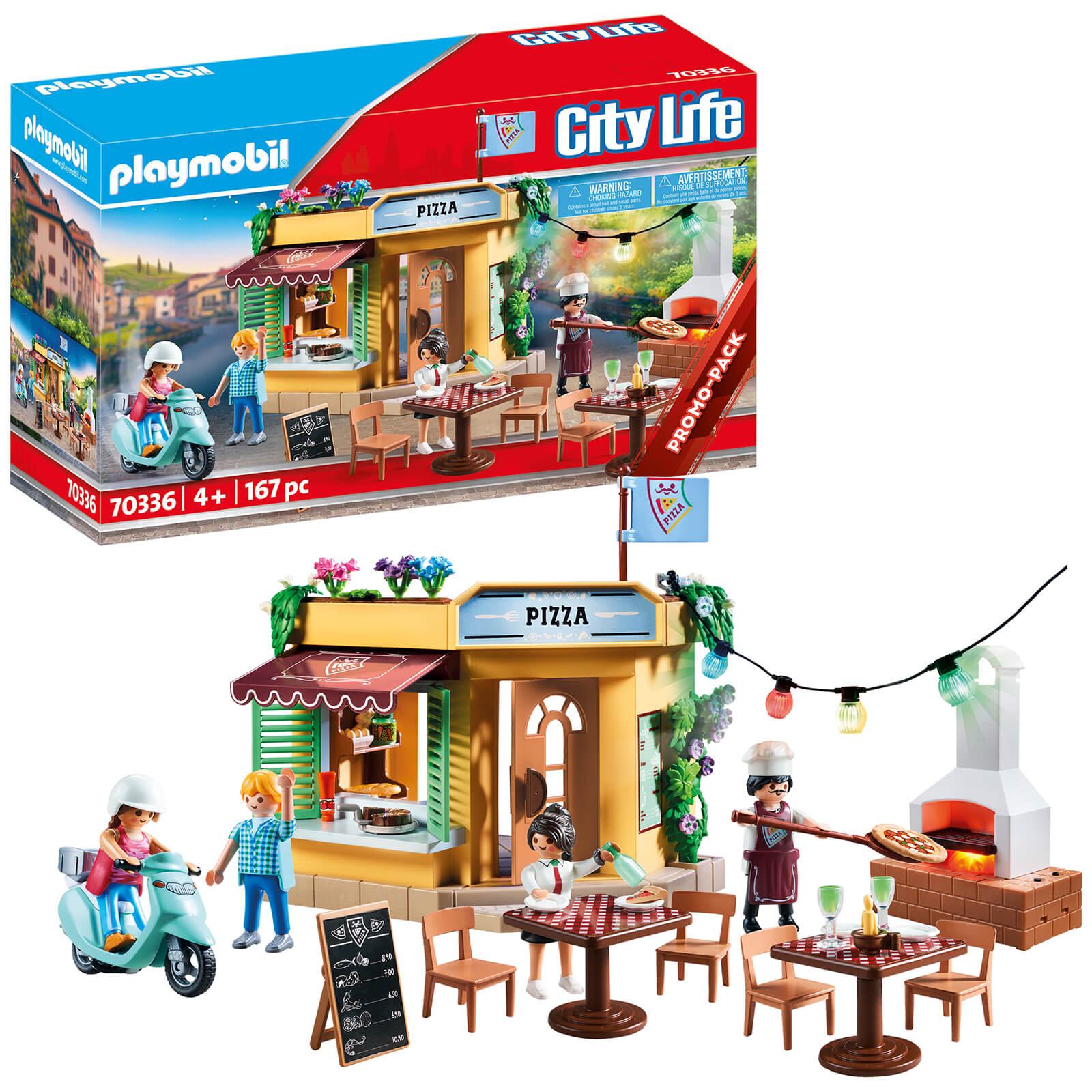Playmobil City Life Promo Pizzeria (70336)