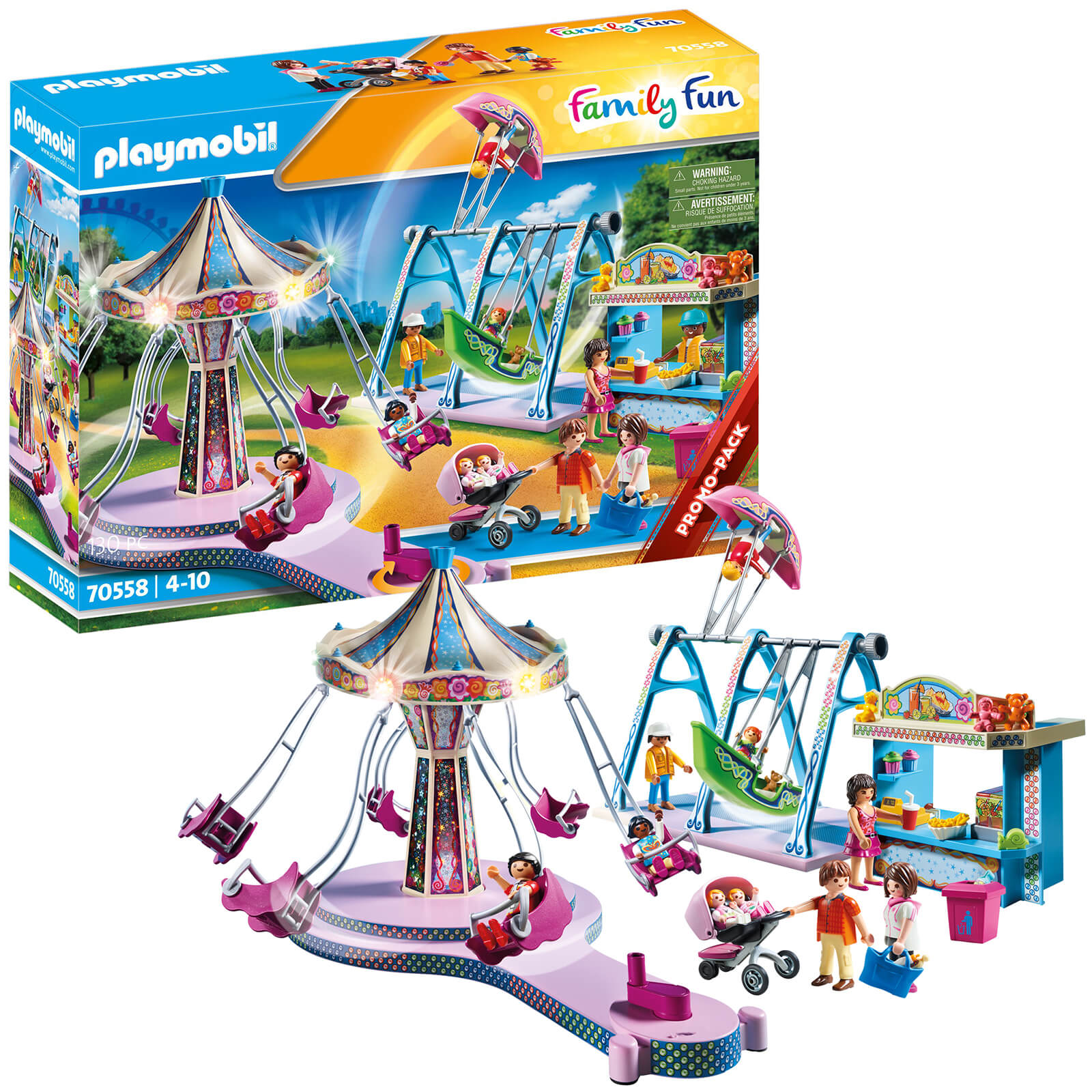 Playmobil Family Fun Promo Large County Fair (70558)