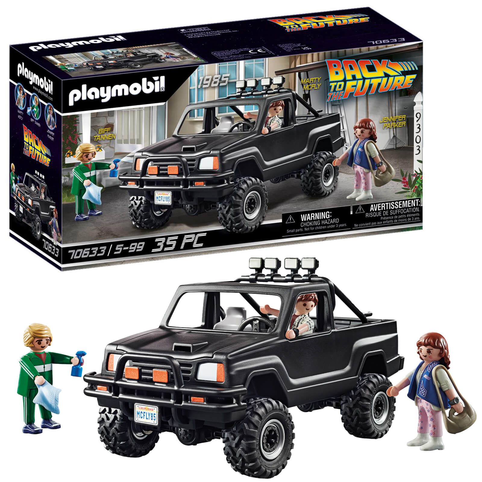 Playmobil Back To The Future Marty�s Pickup Truck (70633)