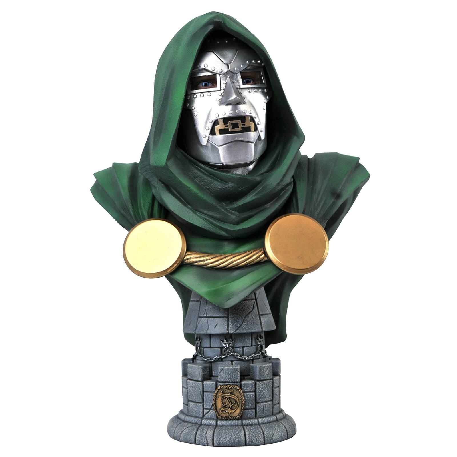 Image of Diamond Select Marvel Legends In 3D 1/2 Scale Bust - Dr. Doom