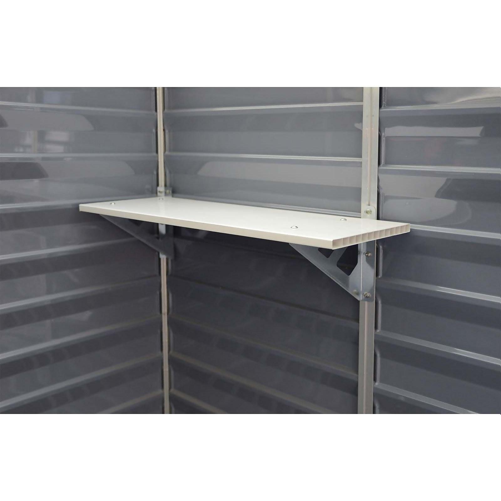 Palram - Canopia Skylight Shed Shelf Kit (Pack of 3)