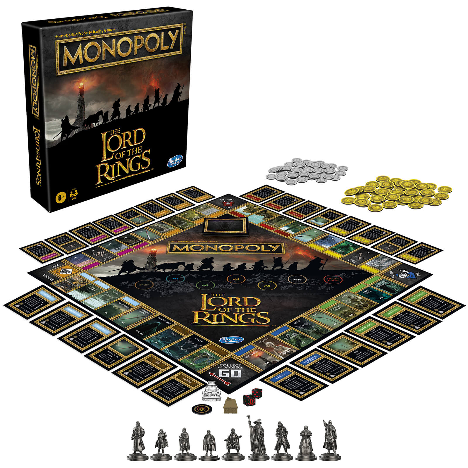 Monopoly Board Game - Lord of the Rings Edition