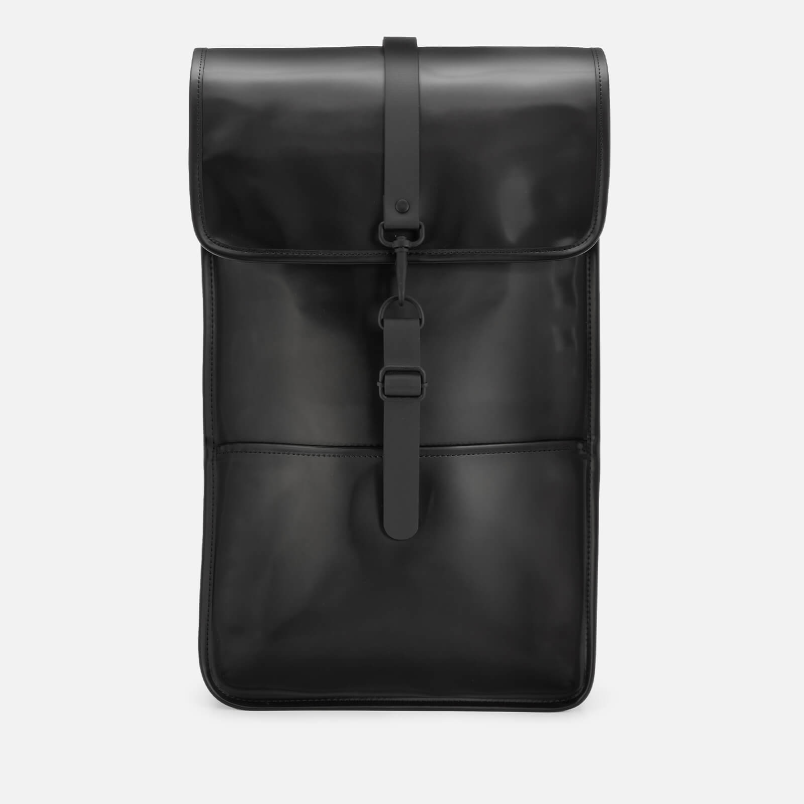 Rains Men's Backpack - Shiny Black