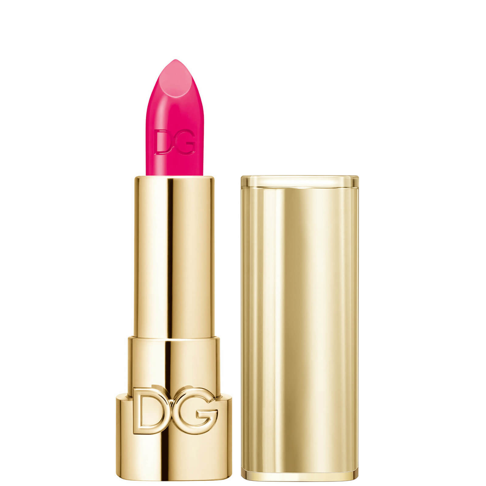 Dolce&Gabbana The Only One Lipstick + Cap (Gold) (Various Shades) - 280 Shock Flamingo