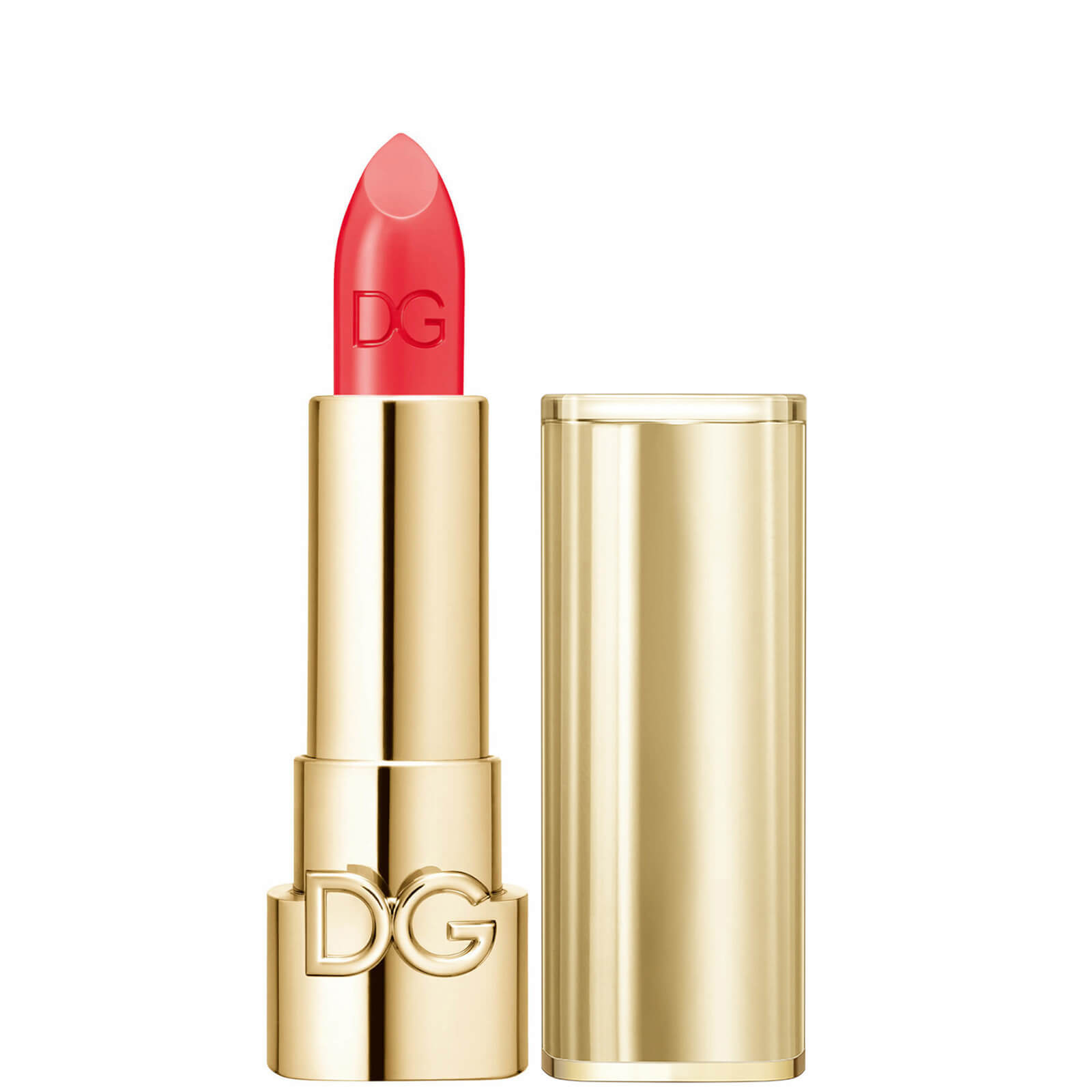 Dolce&Gabbana The Only One Lipstick + Cap (Gold) (Various Shades) - 420 Coral Sunset