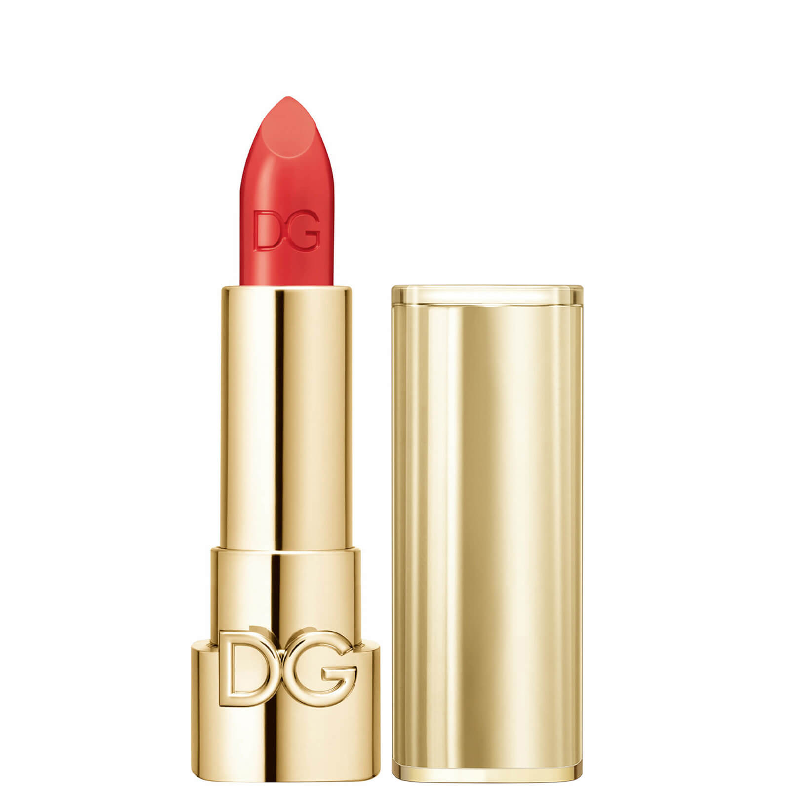 Dolce&Gabbana The Only One Lipstick + Cap (Gold) (Various Shades) - 600 Real Fire