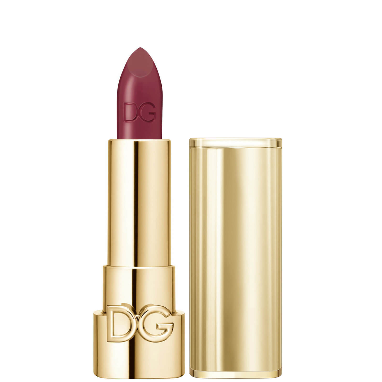 Dolce&Gabbana The Only One Lipstick + Cap (Gold) (Various Shades) - 320 Passionate Dahlia