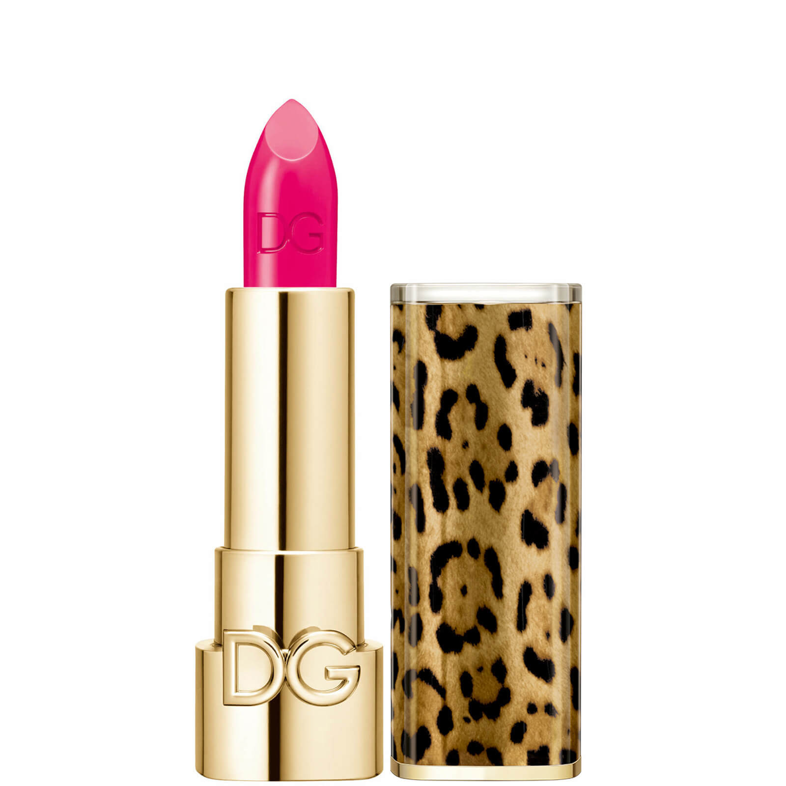 Dolce&Gabbana The Only One Lipstick + Cap (Animalier) (Various Shades) - 280 Shock Flamingo