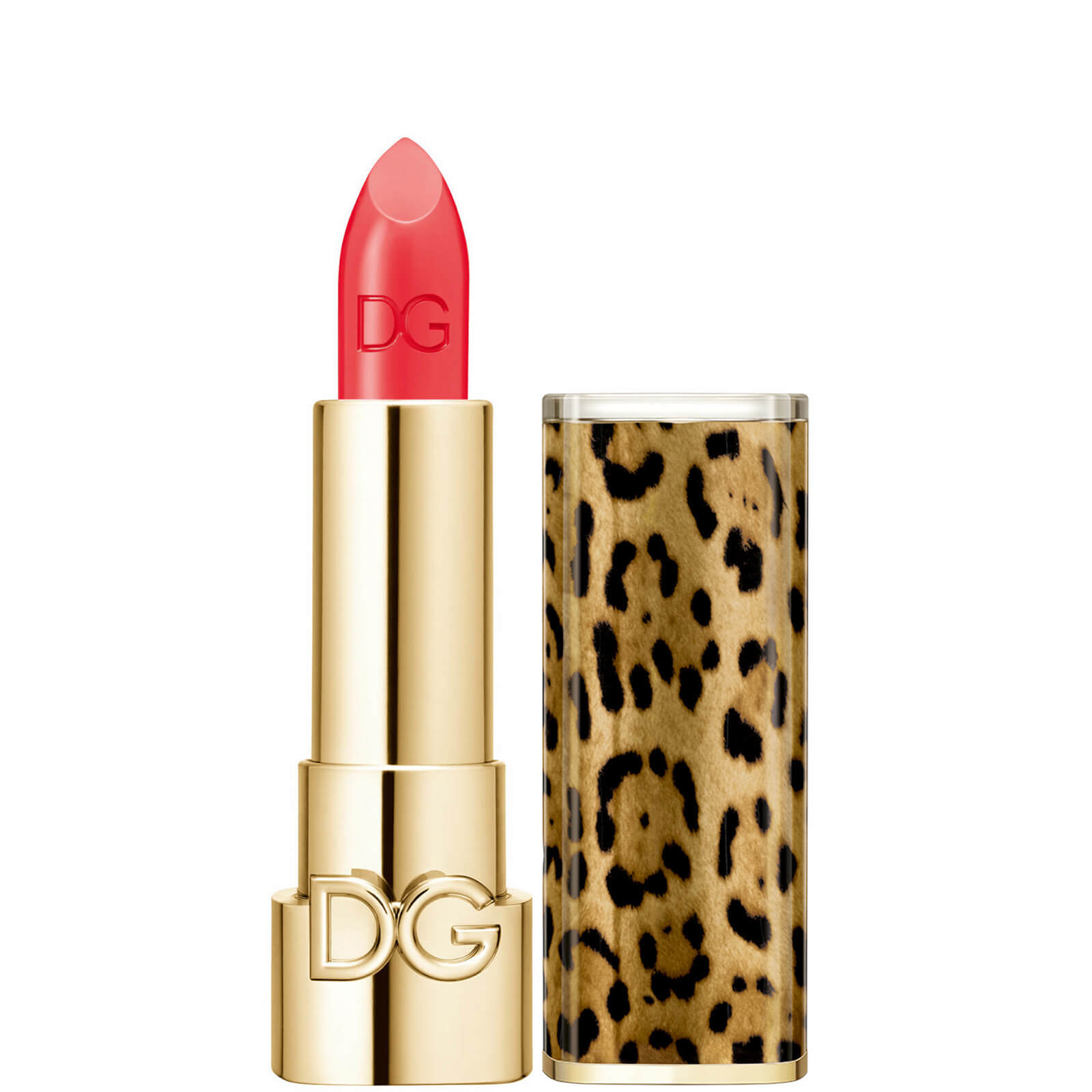 Dolce&Gabbana The Only One Lipstick + Cap (Animalier) (Various Shades) - 420 Coral Sunset