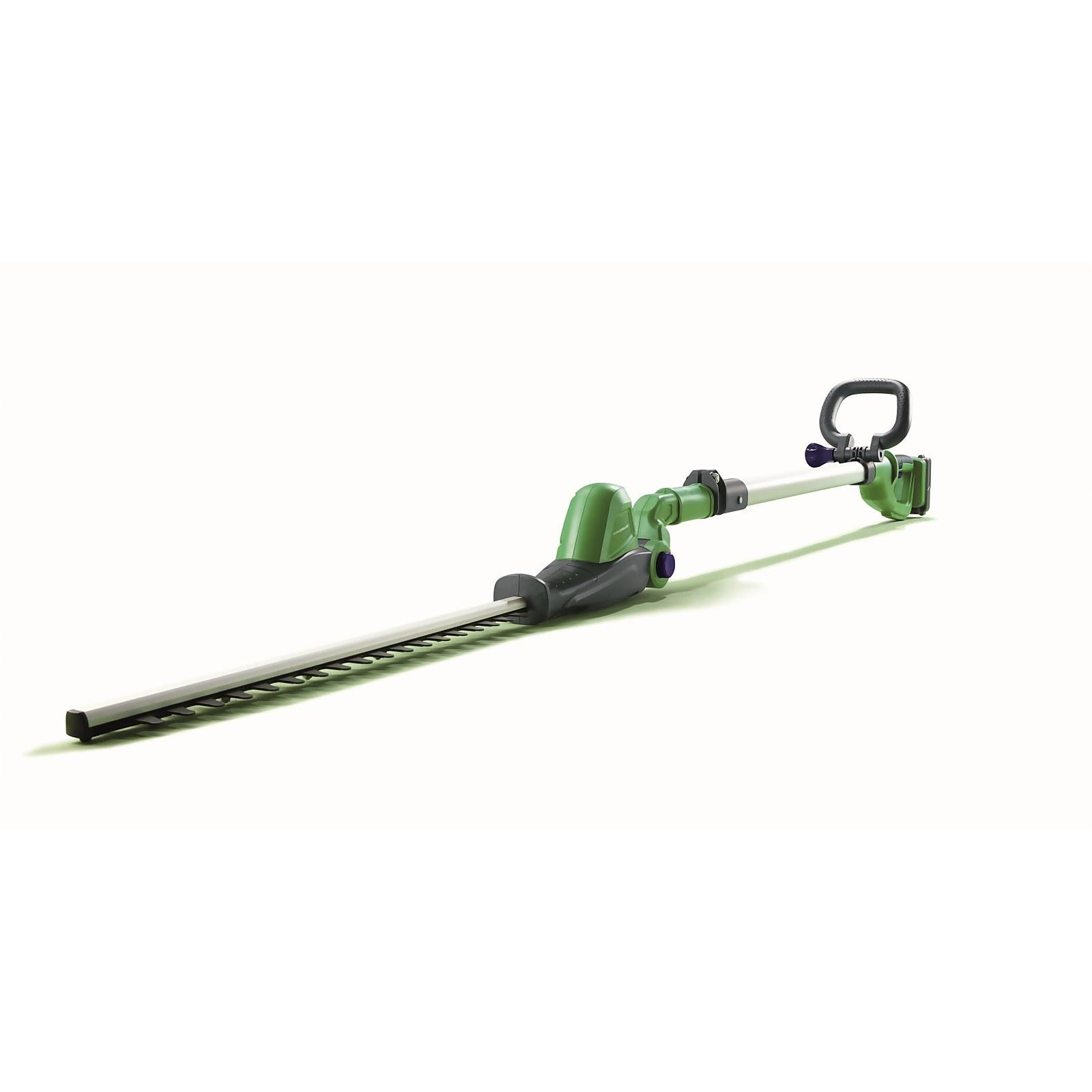 Powerbase 20V Cordless Pole Hedge Trimmer 41cm