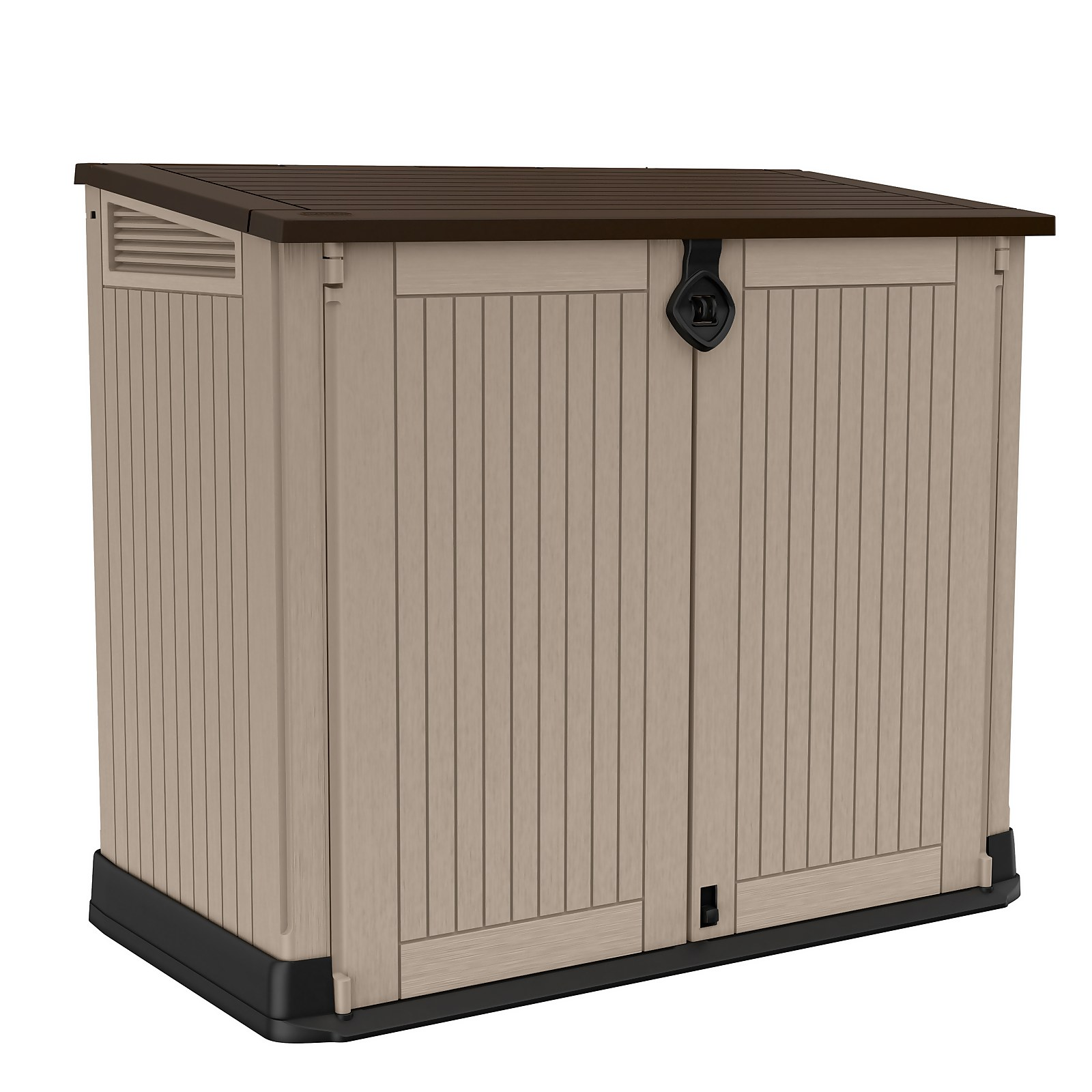 Keter Store It Out Midi Outdoor Garden Storage Shed 880L - Beige/Brown