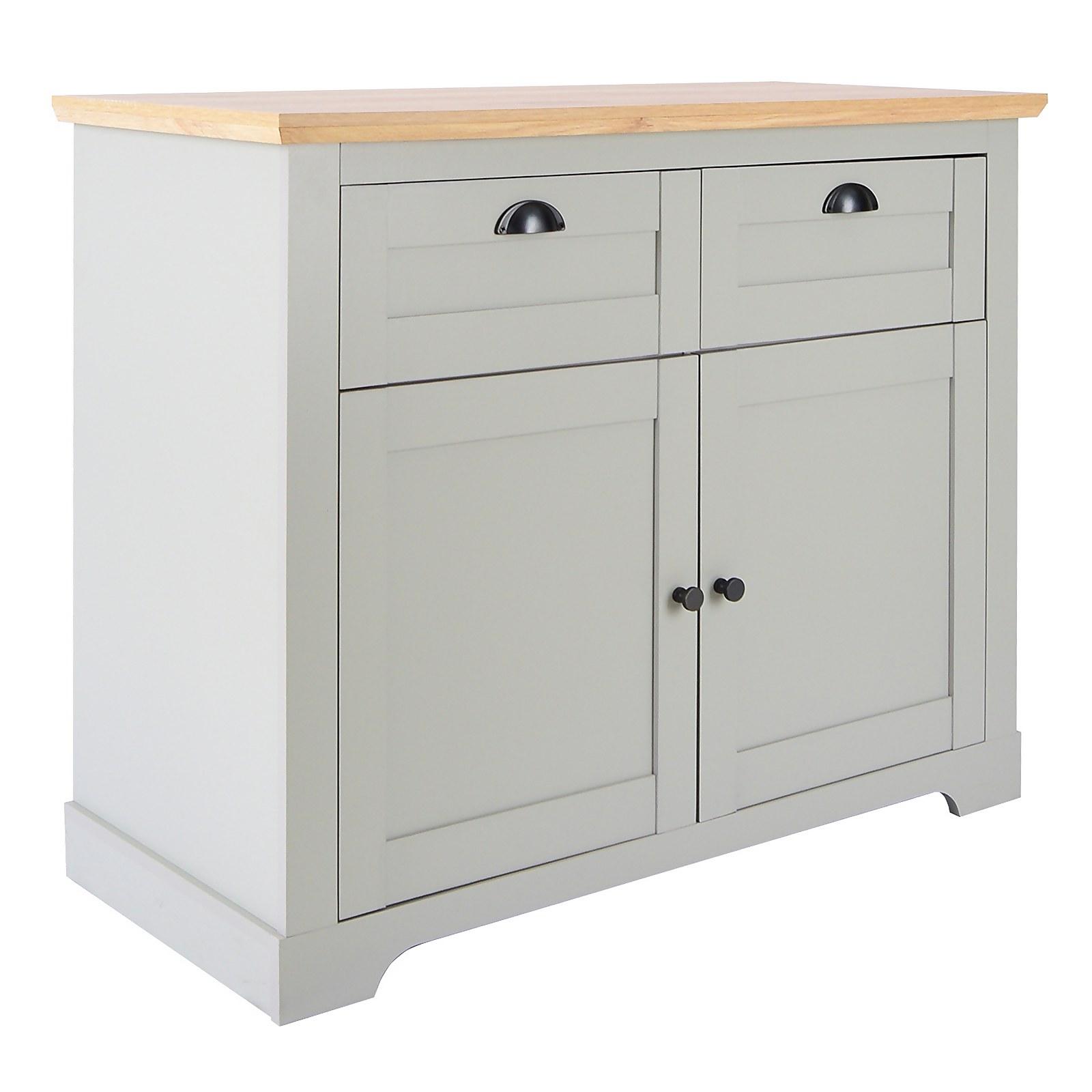 Divine Compact Sideboard - Grey