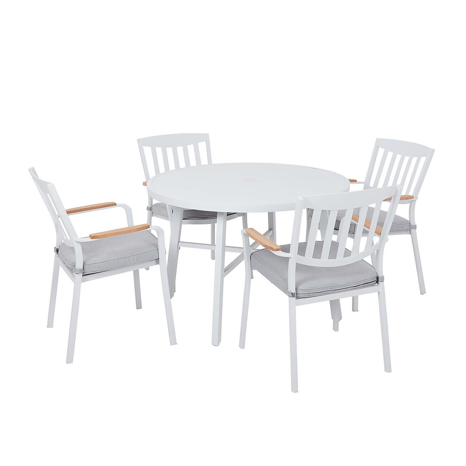 Spirit 4 Seater Garden Dining Set