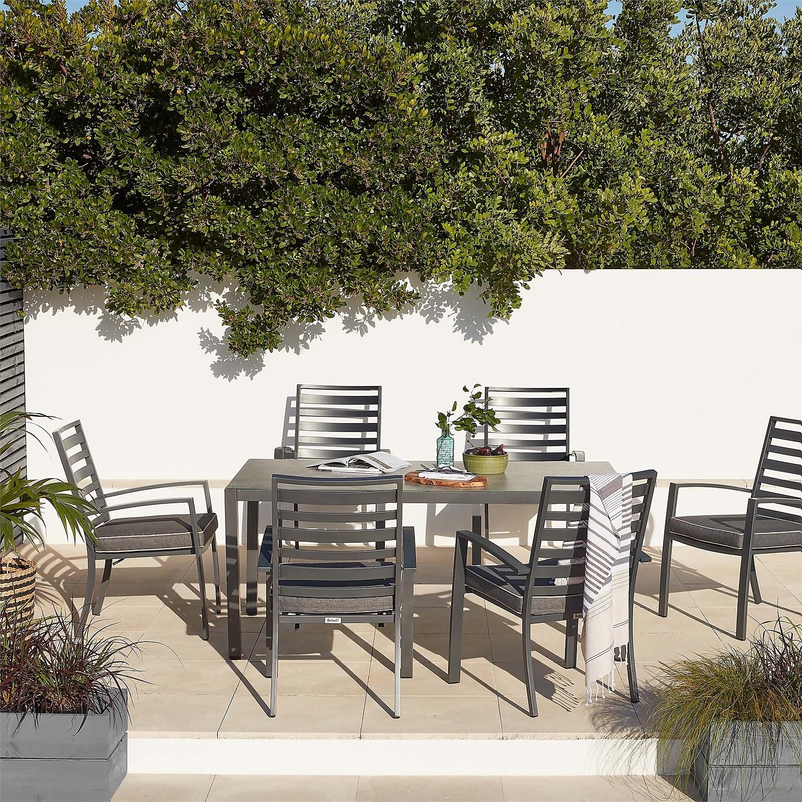 Magna 6 Seater Garden Dining Set