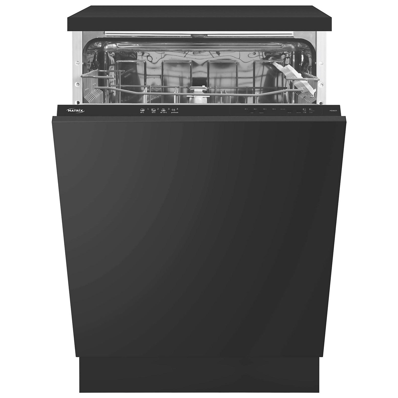 Matrix MDI6011 Integrated Dishwasher - 60cm