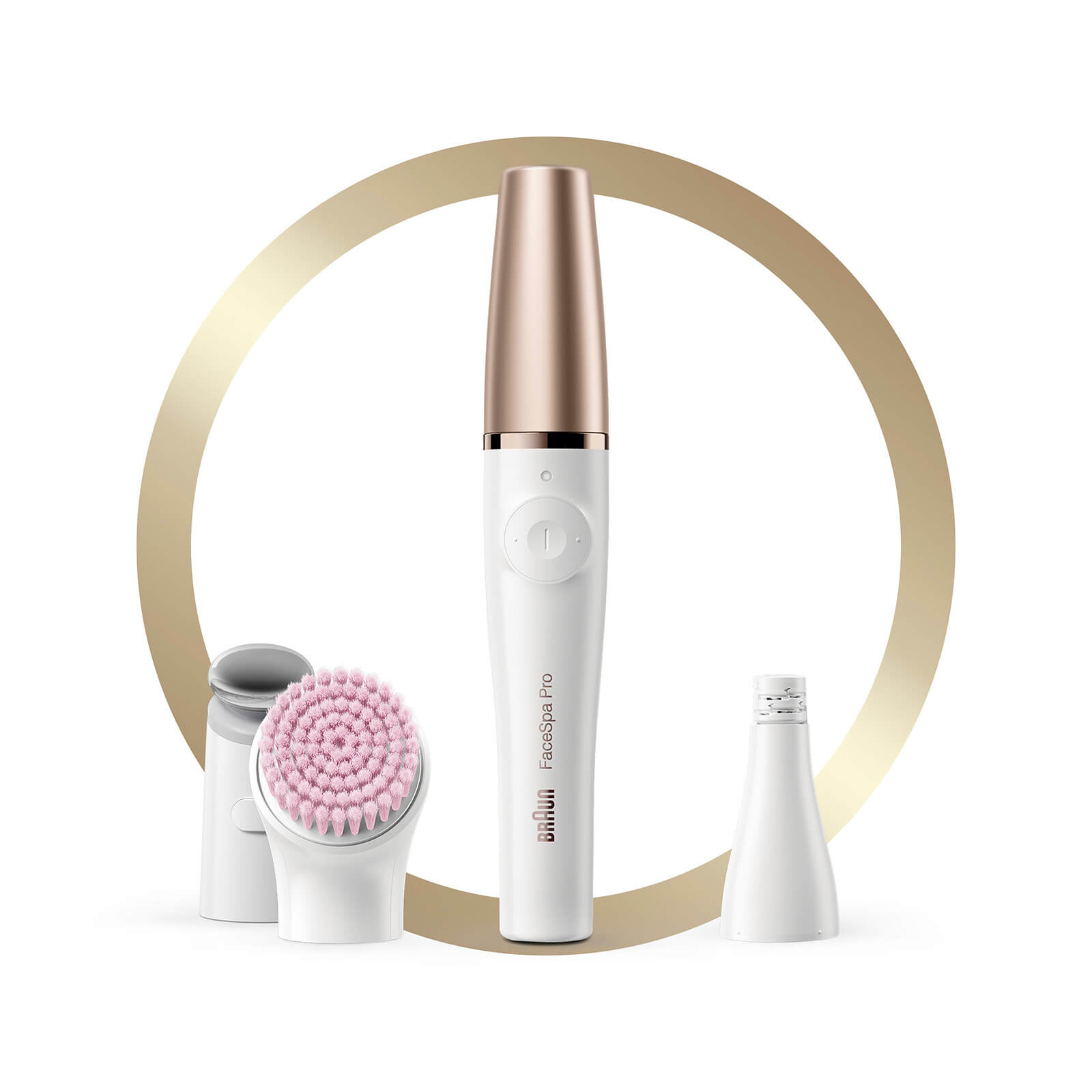 FaceSpa Pro Facial Epilator with 5 Extras with Pouch