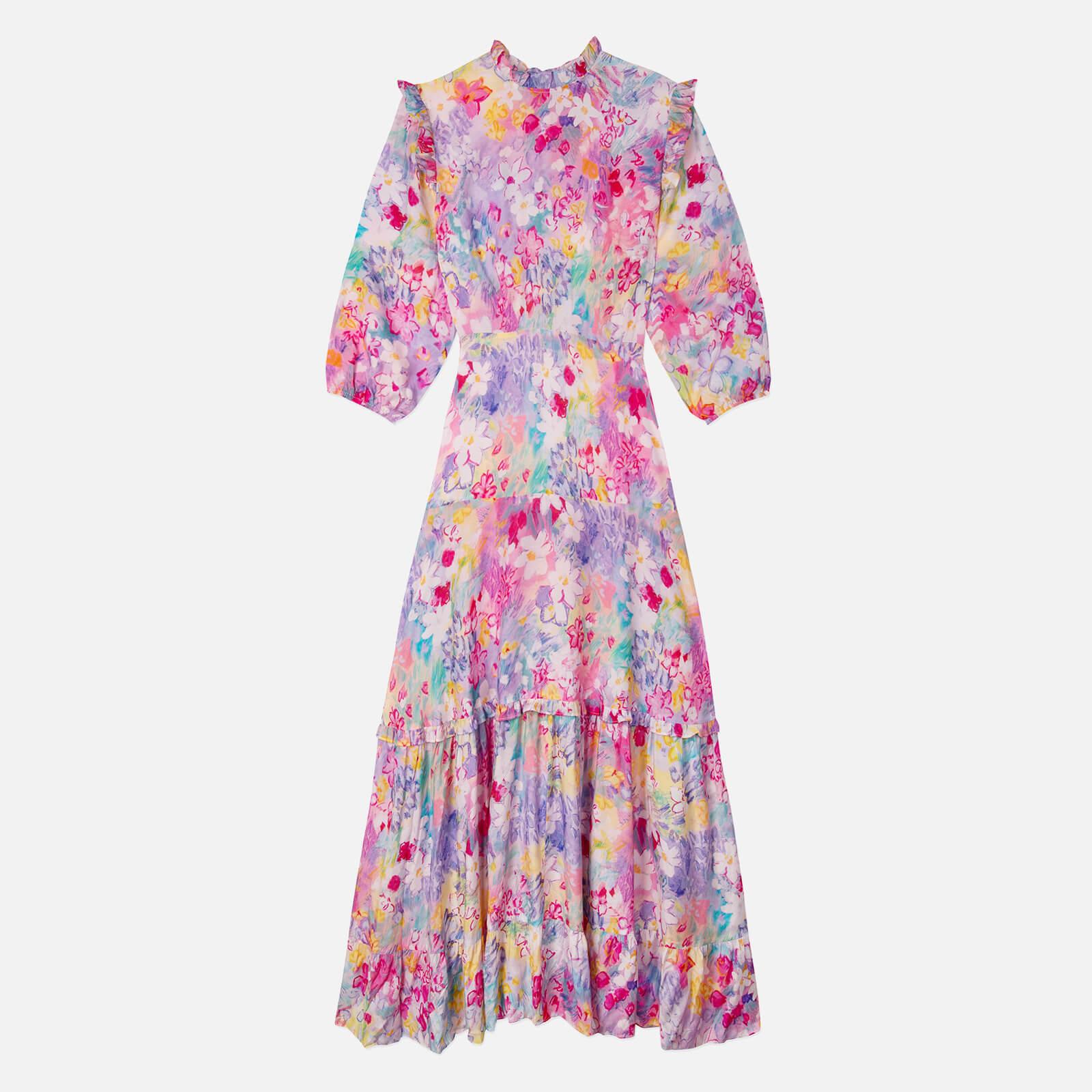 RIXO Women's Monet Dress - Spring Meadow - L