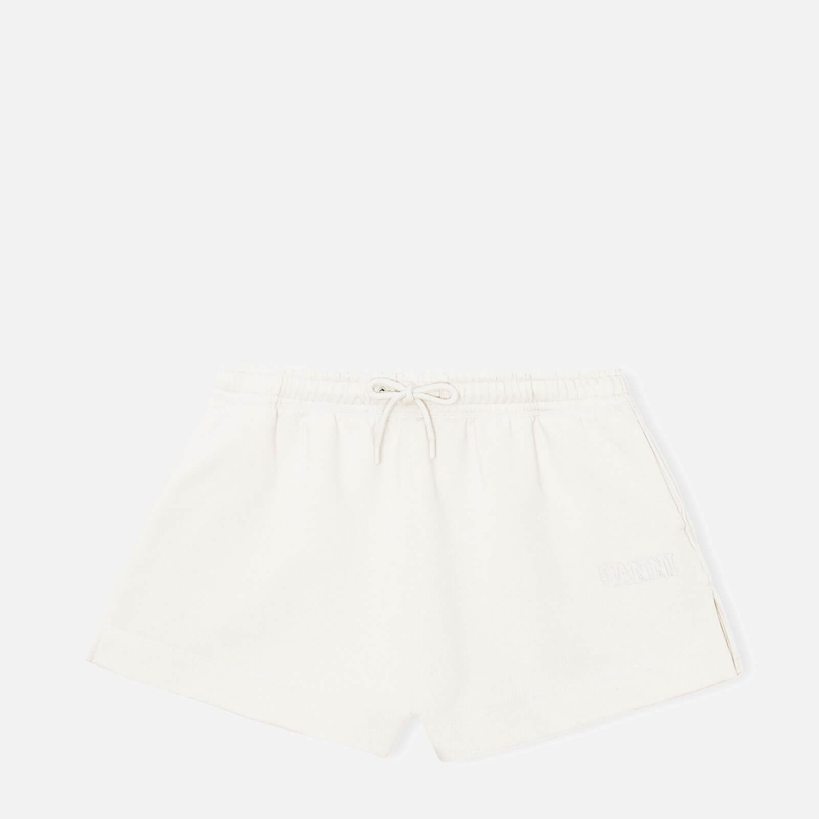 Ganni Women's Isoli Shorts - Egret - Xs