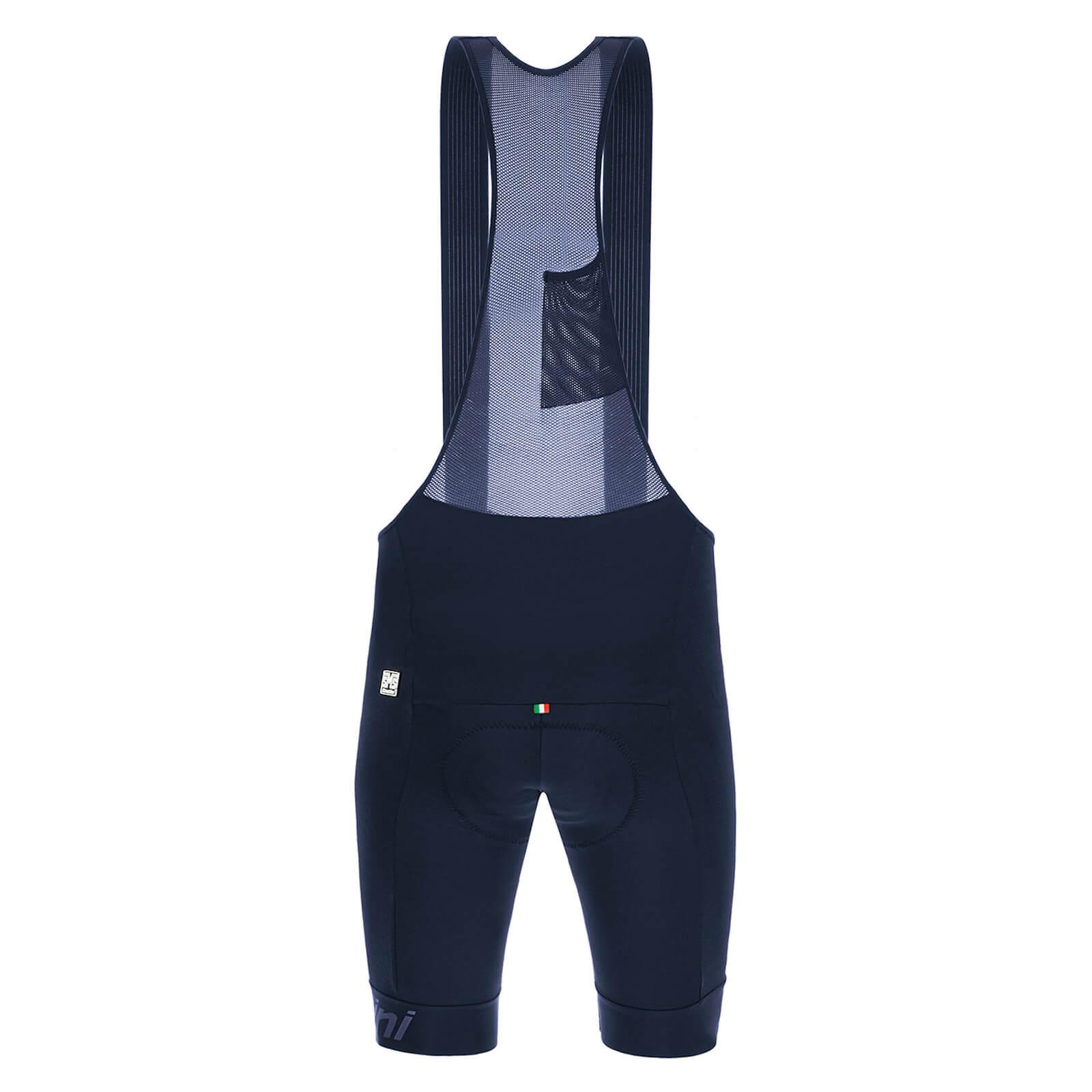 Santini Impact Pro Bib Shorts - XL - Nautica Blue