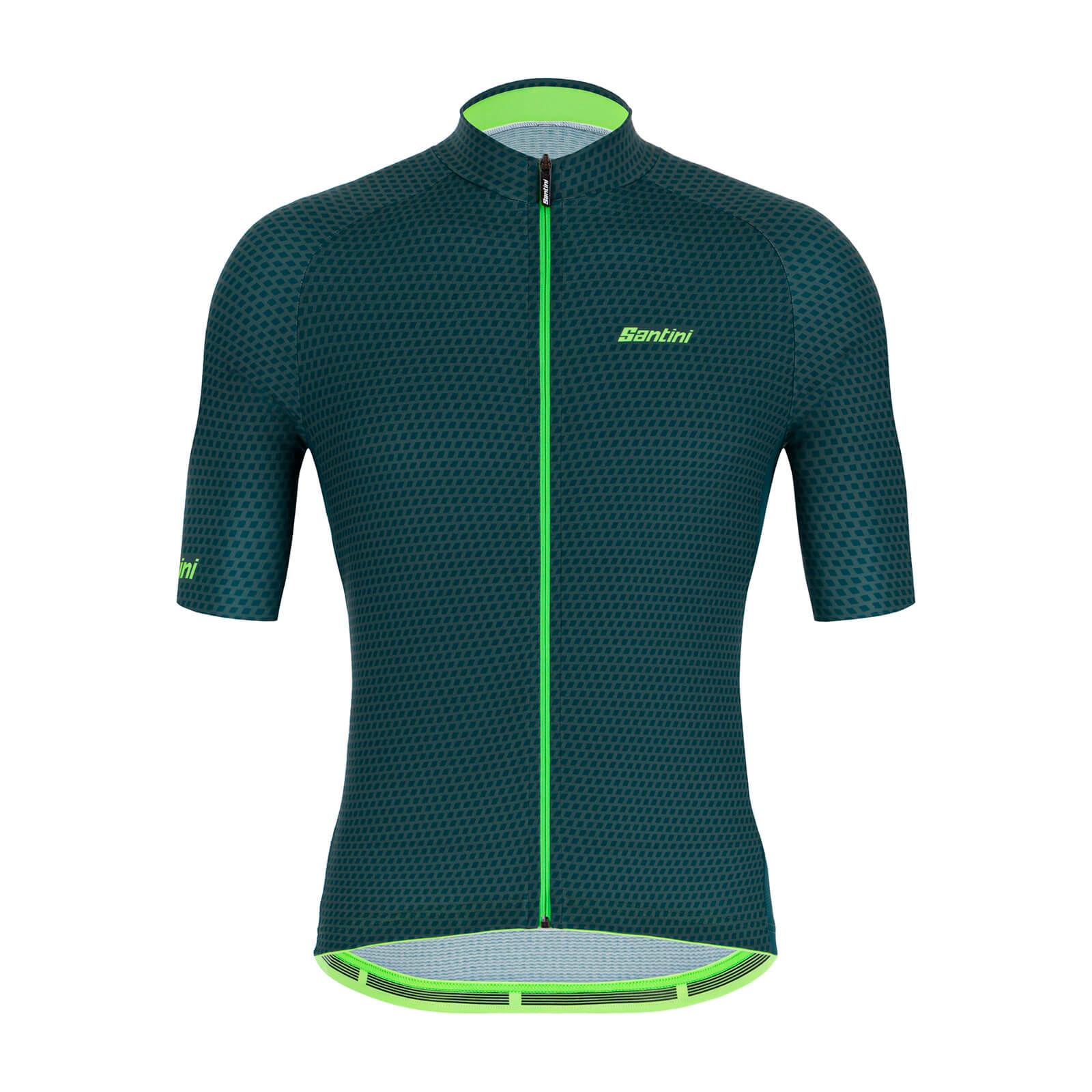 Santini Karma Kite Jersey - XL - Military Green