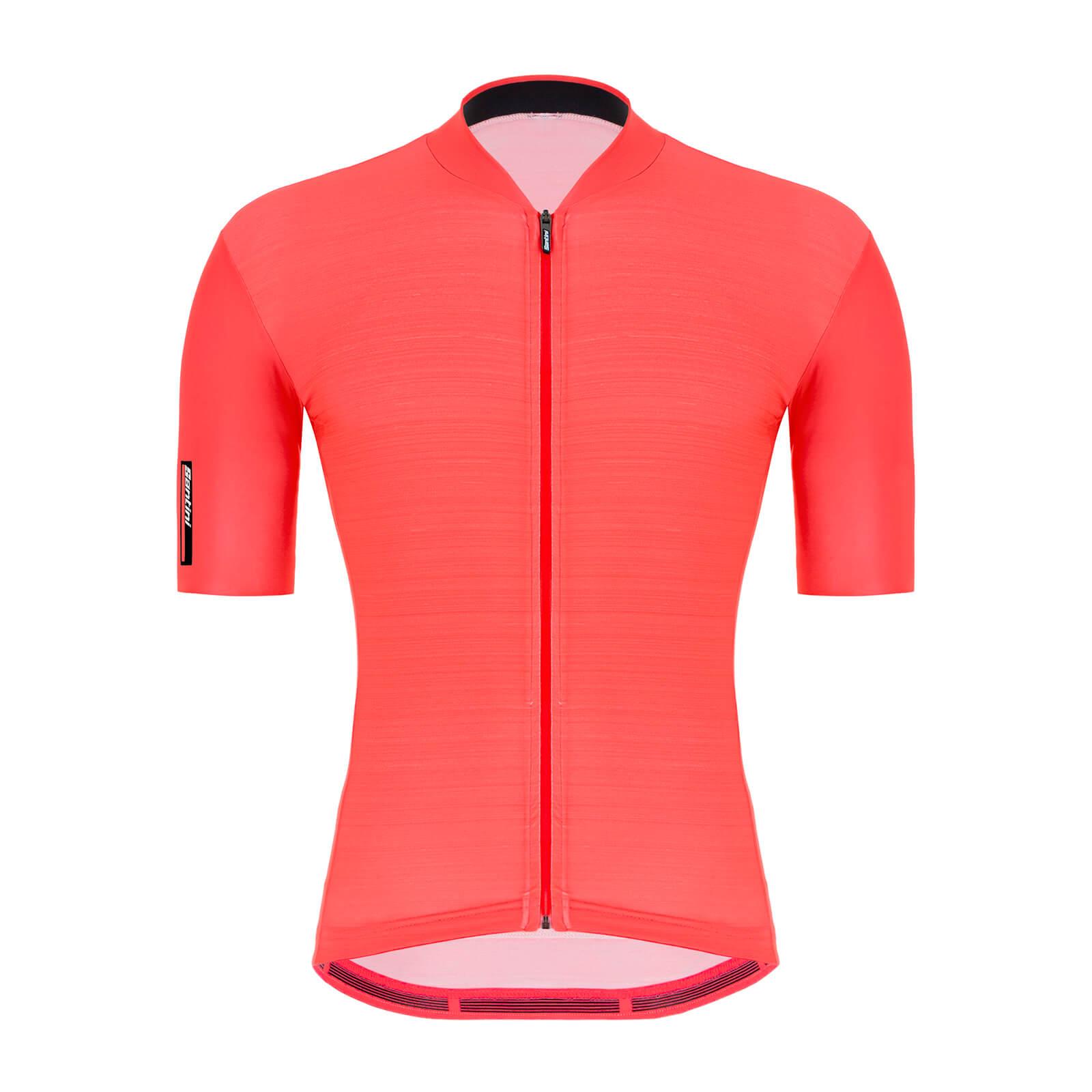 Santini Colore Jersey - M - Granatina Orange