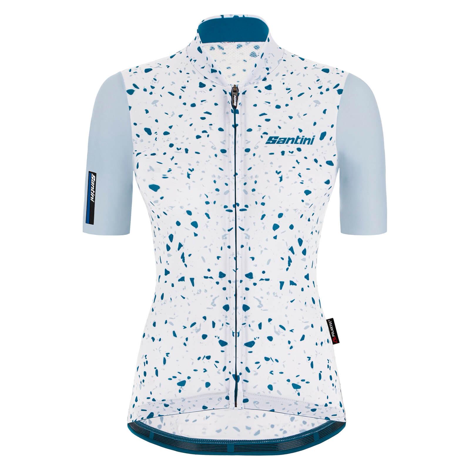 Summit Finish Grand Tour Dots Womens T-shirt - White - Xxl - White