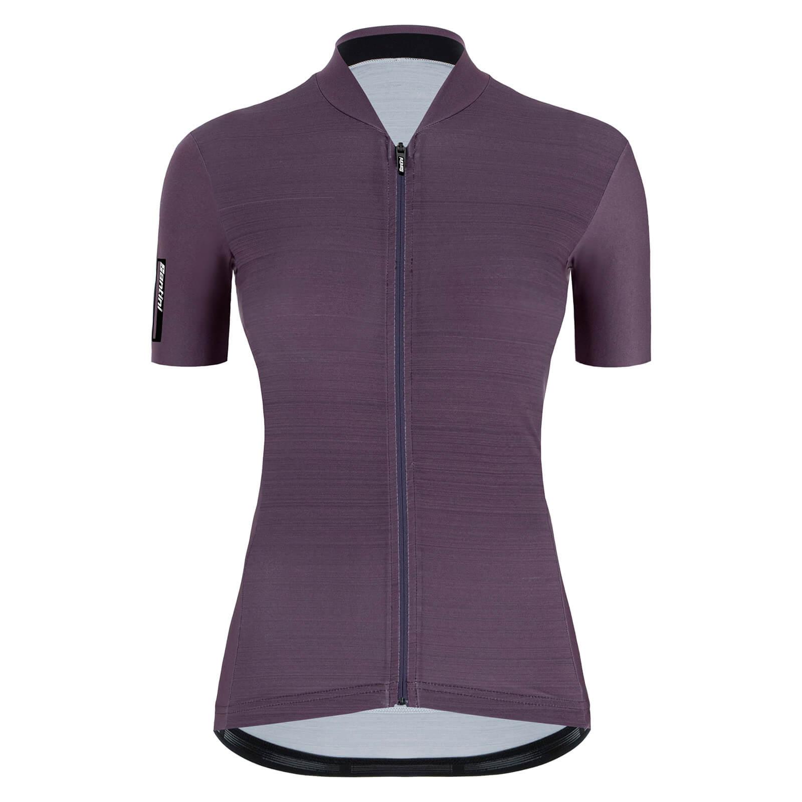 Santini Women's Colore Jersey - M - Vigneto Purple