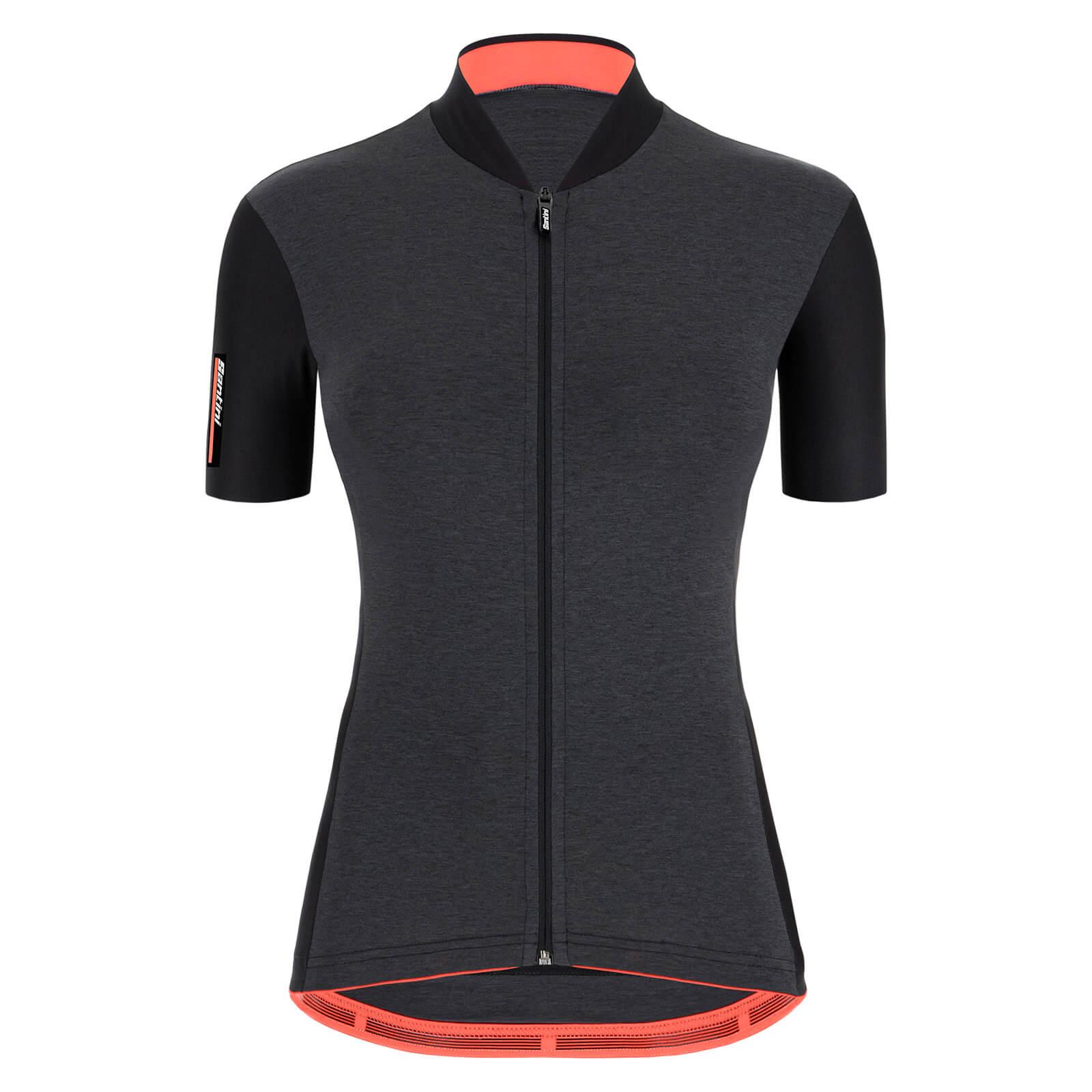 Santini Women's Colore Jersey - M - Black