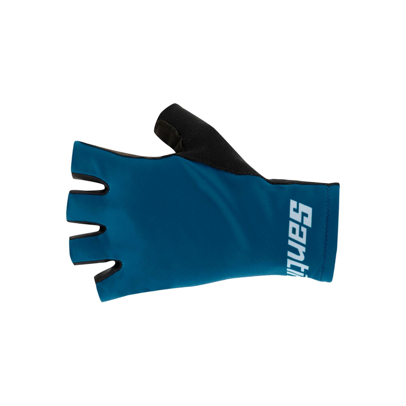 Santini Redux Istino Gloves - S - Schwarz