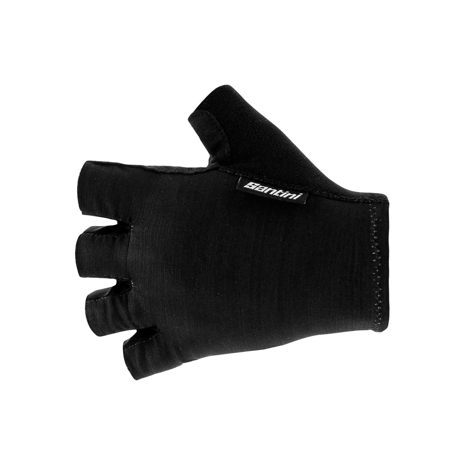 Santini Cubo Gloves - L - Black