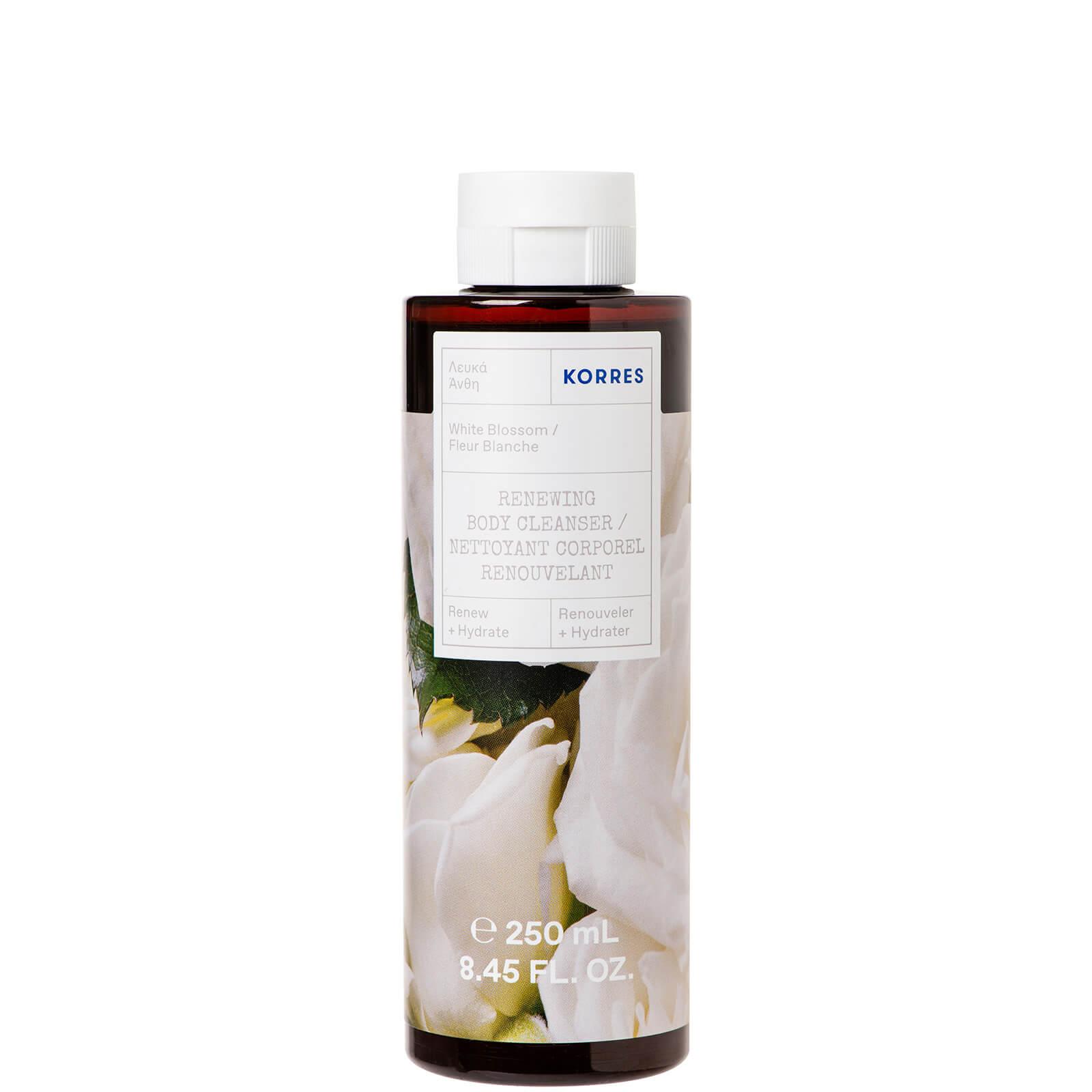 Купить KORRES White Blossom Renewing Body Cleanser 250ml очищающее средство для тела