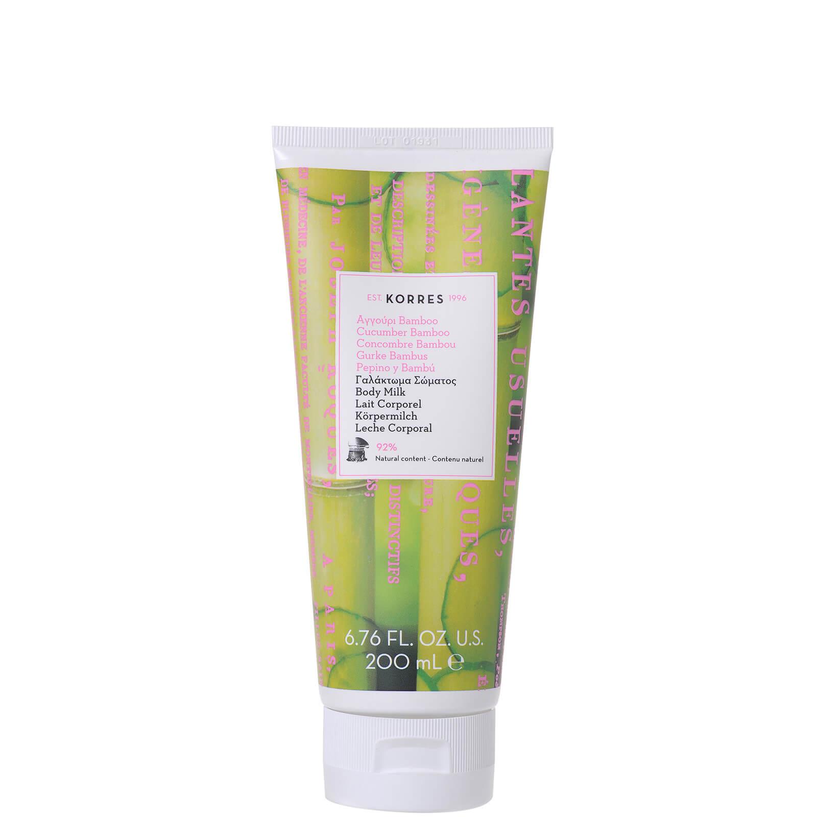 Купить KORRES Cucumber Bamboo Body Smoothing Milk 200ml