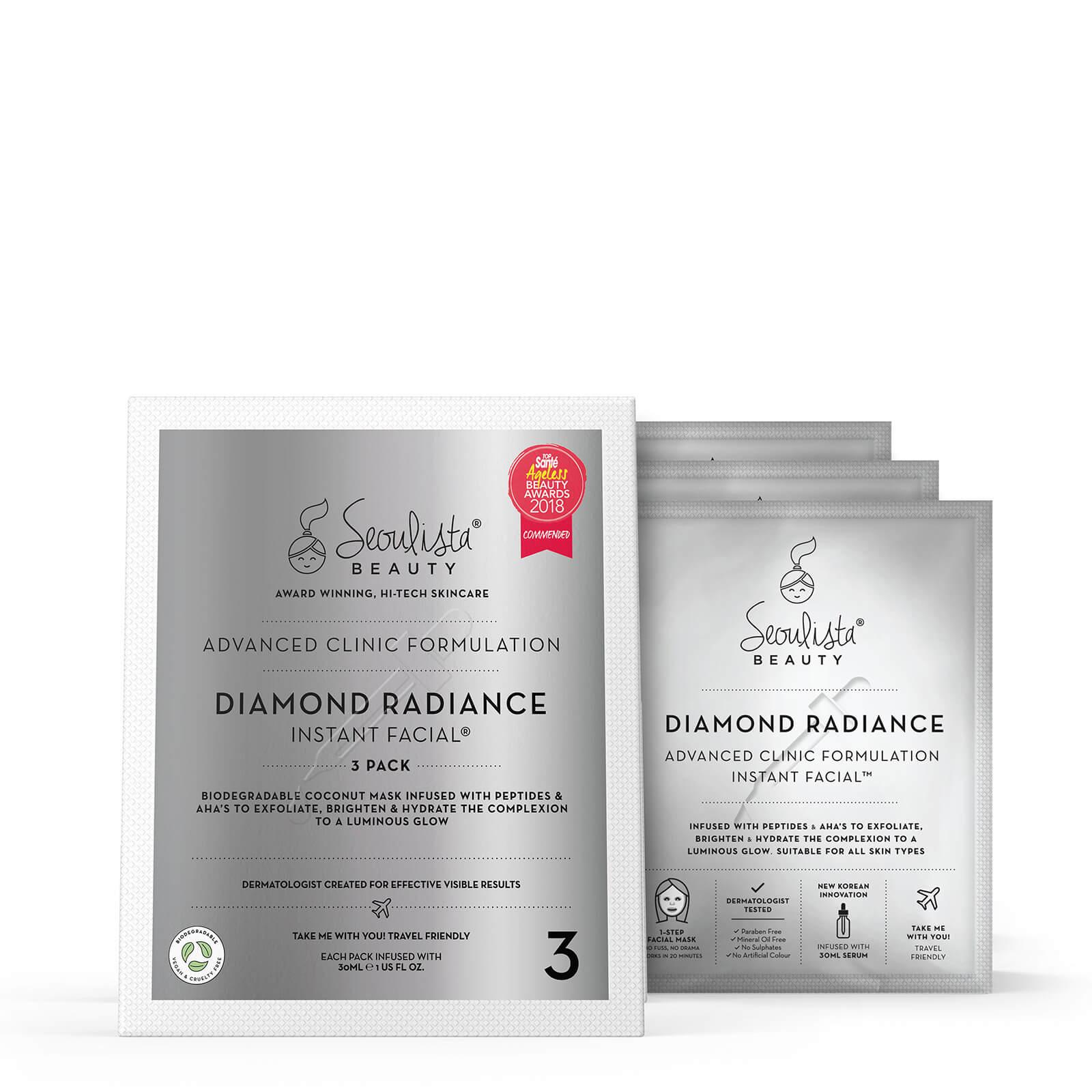 Купить Seoulista Beauty Diamond Radiance Instant Facial Pack (Pack of 3)