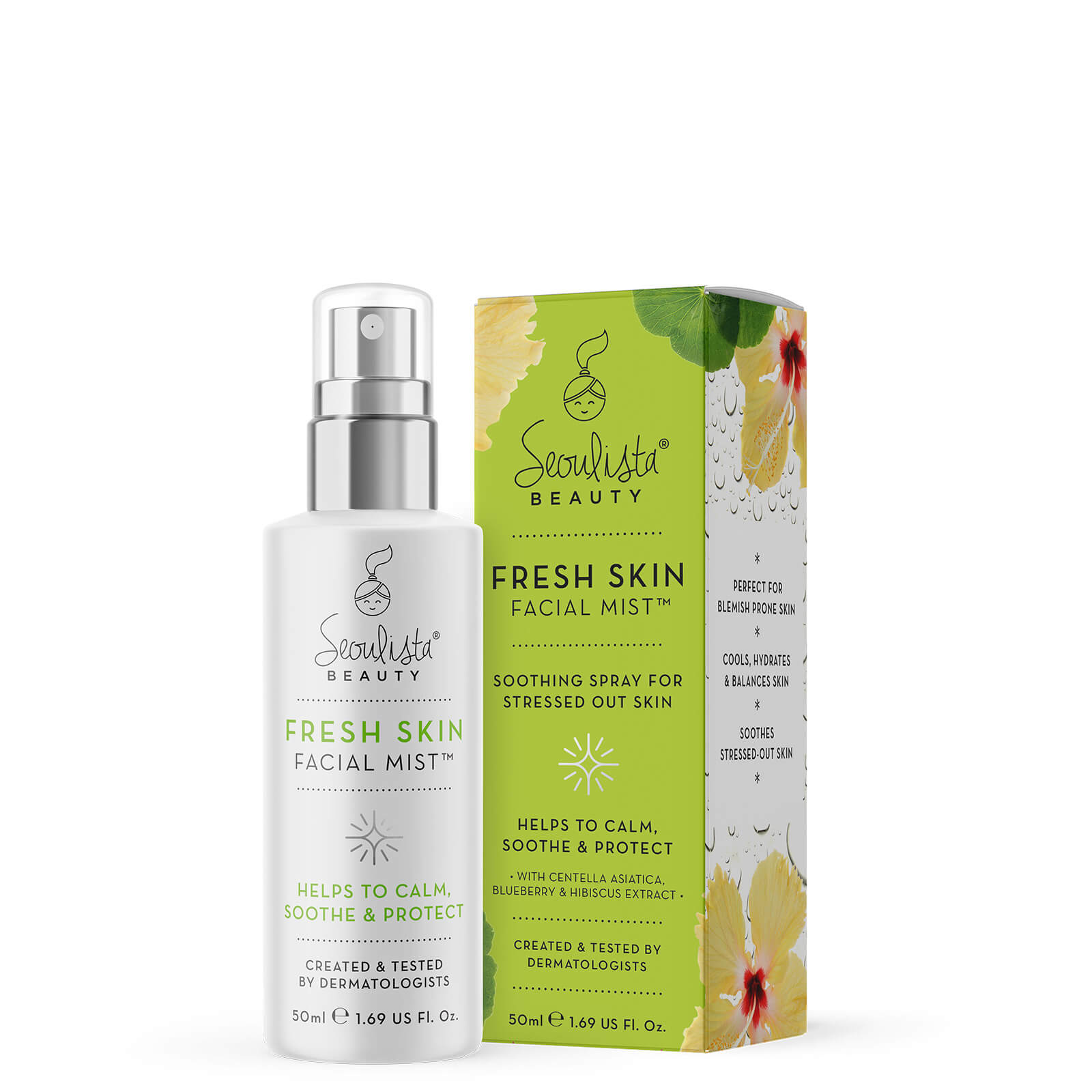 Купить Seoulista Beauty Fresh Skin Facial Mist Spray 86g