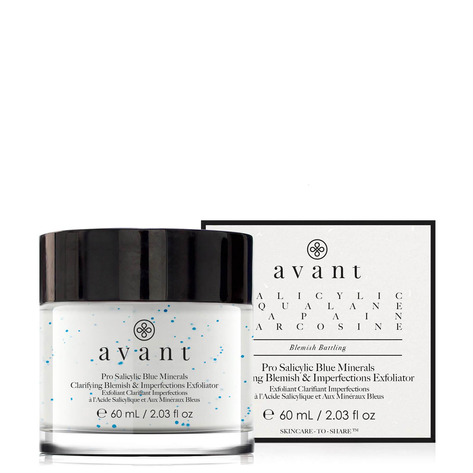 Купить Avant Skincare Pro Salicylic Blue Minerals Clarifying Blemish and Imperfections Exfoliator 60ml
