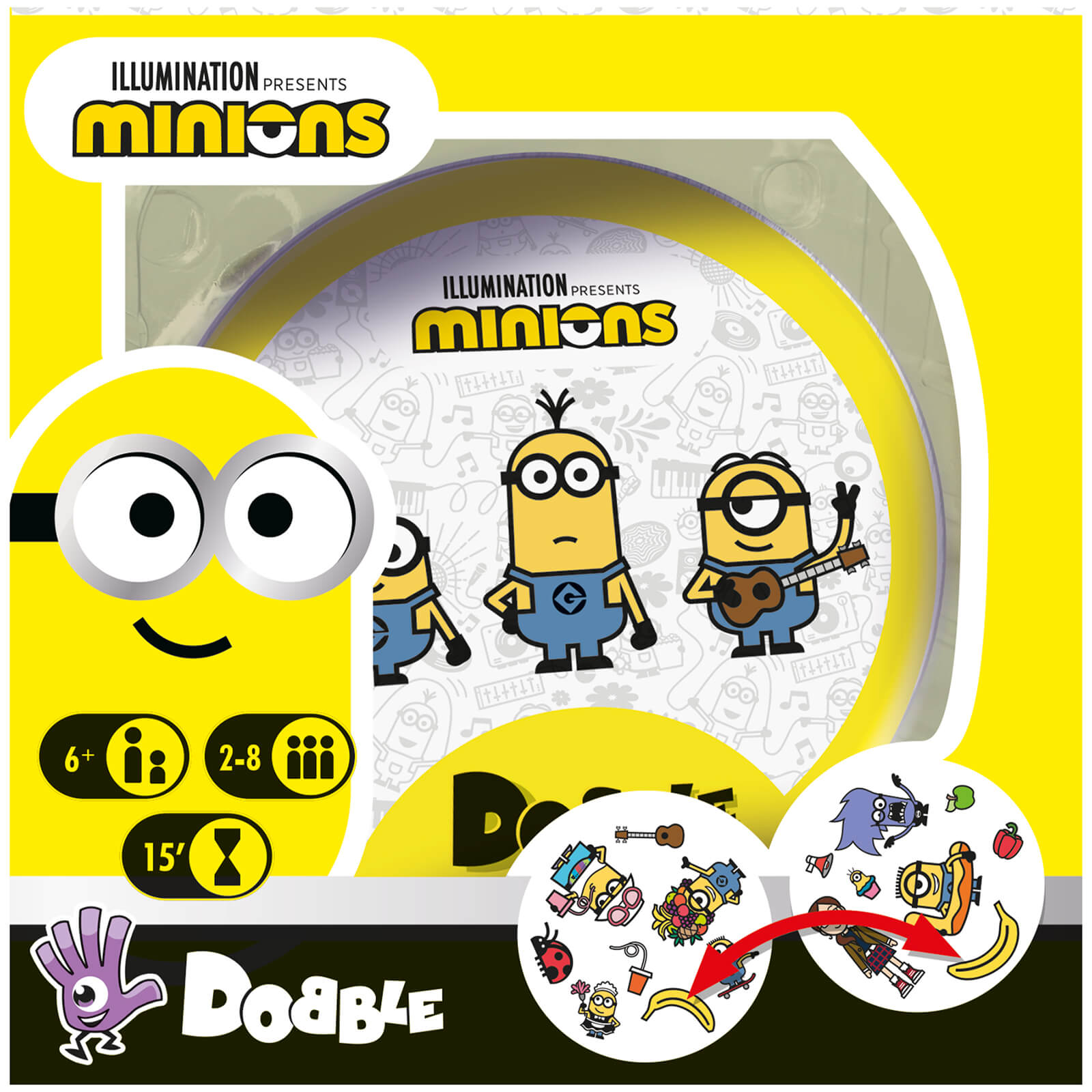 Image of Dobble Card Game - Minions Edition